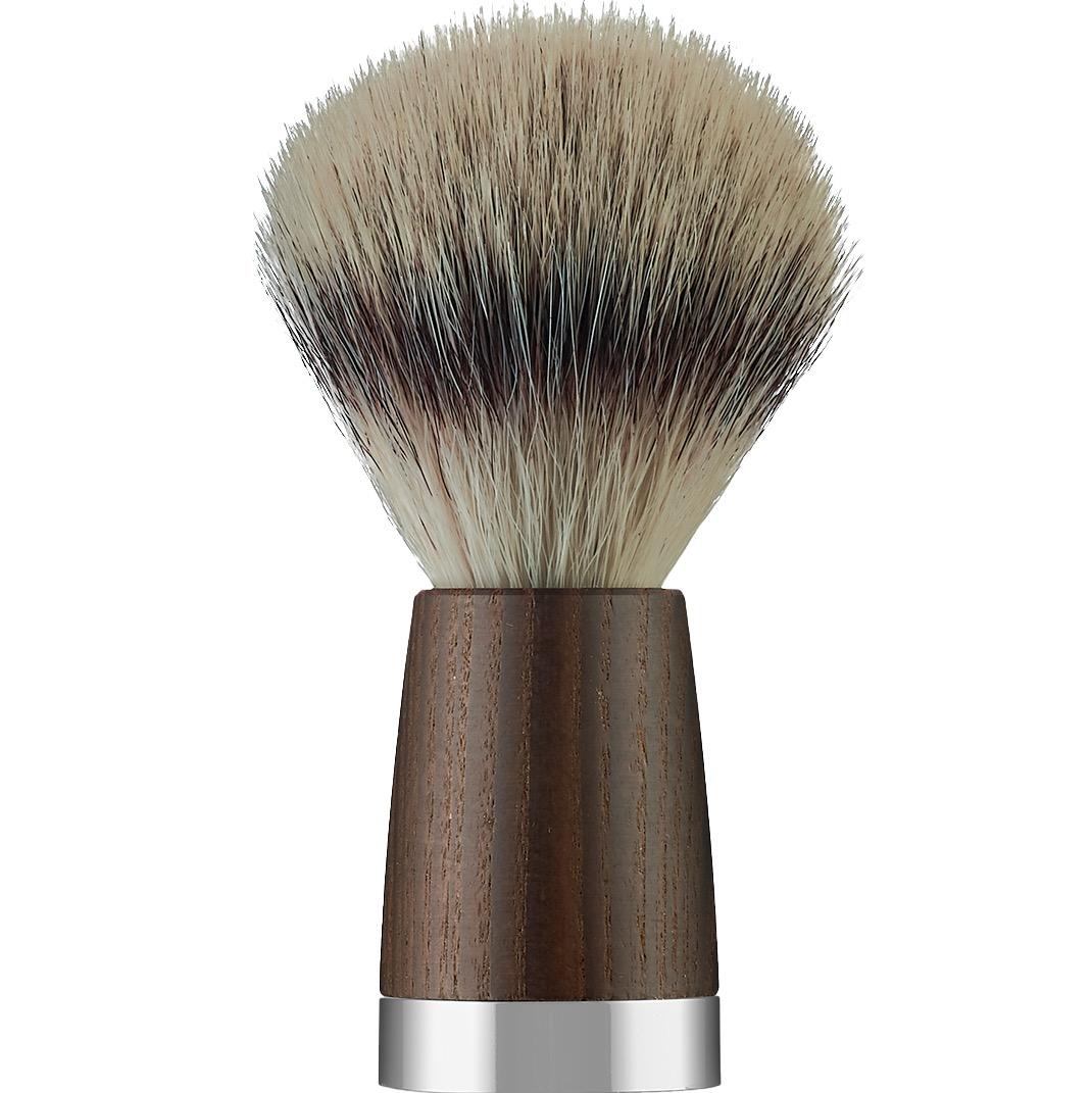 Scheerkwast Silvertip Fibre - oakwood