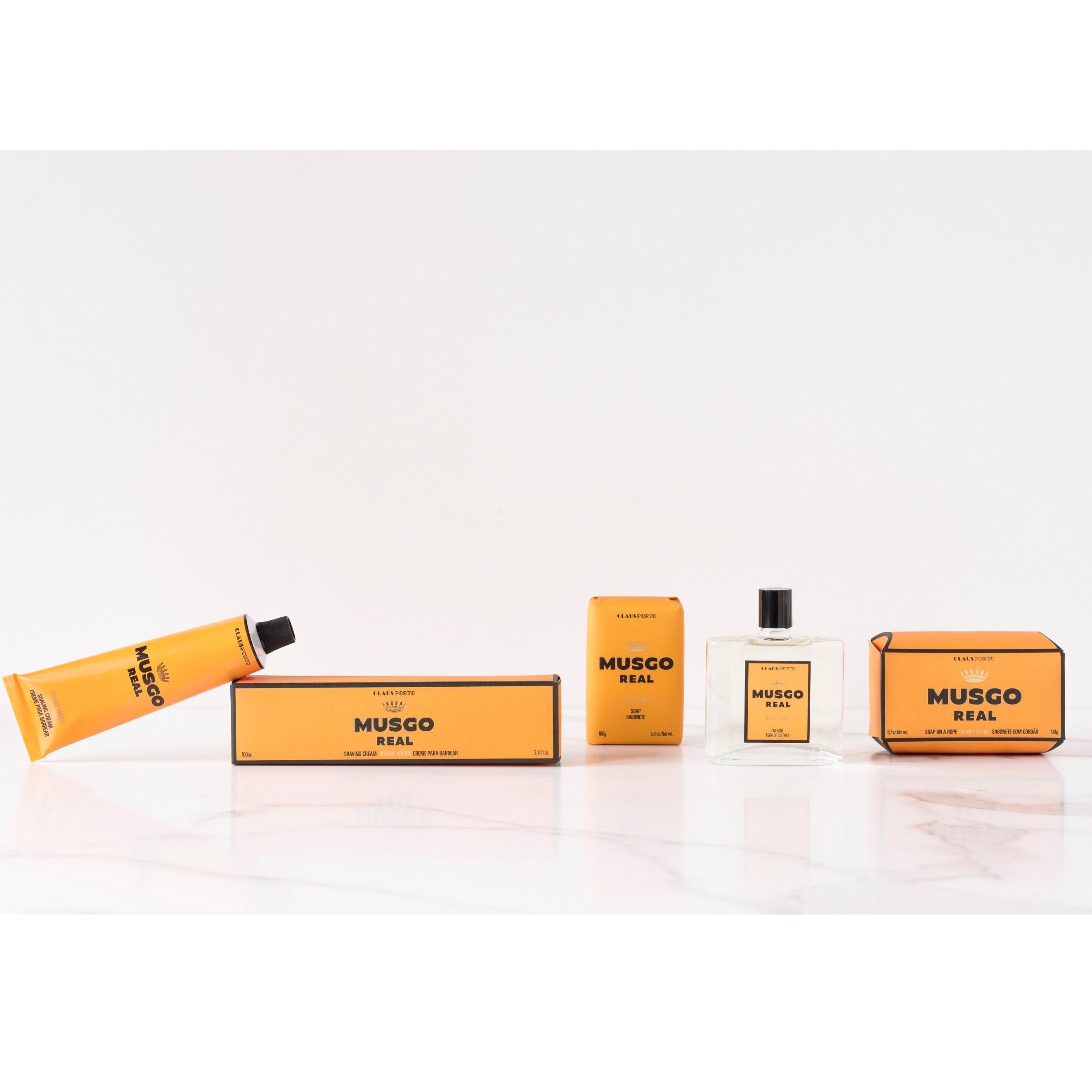 Tester - Scheercrème tube Orange Amber