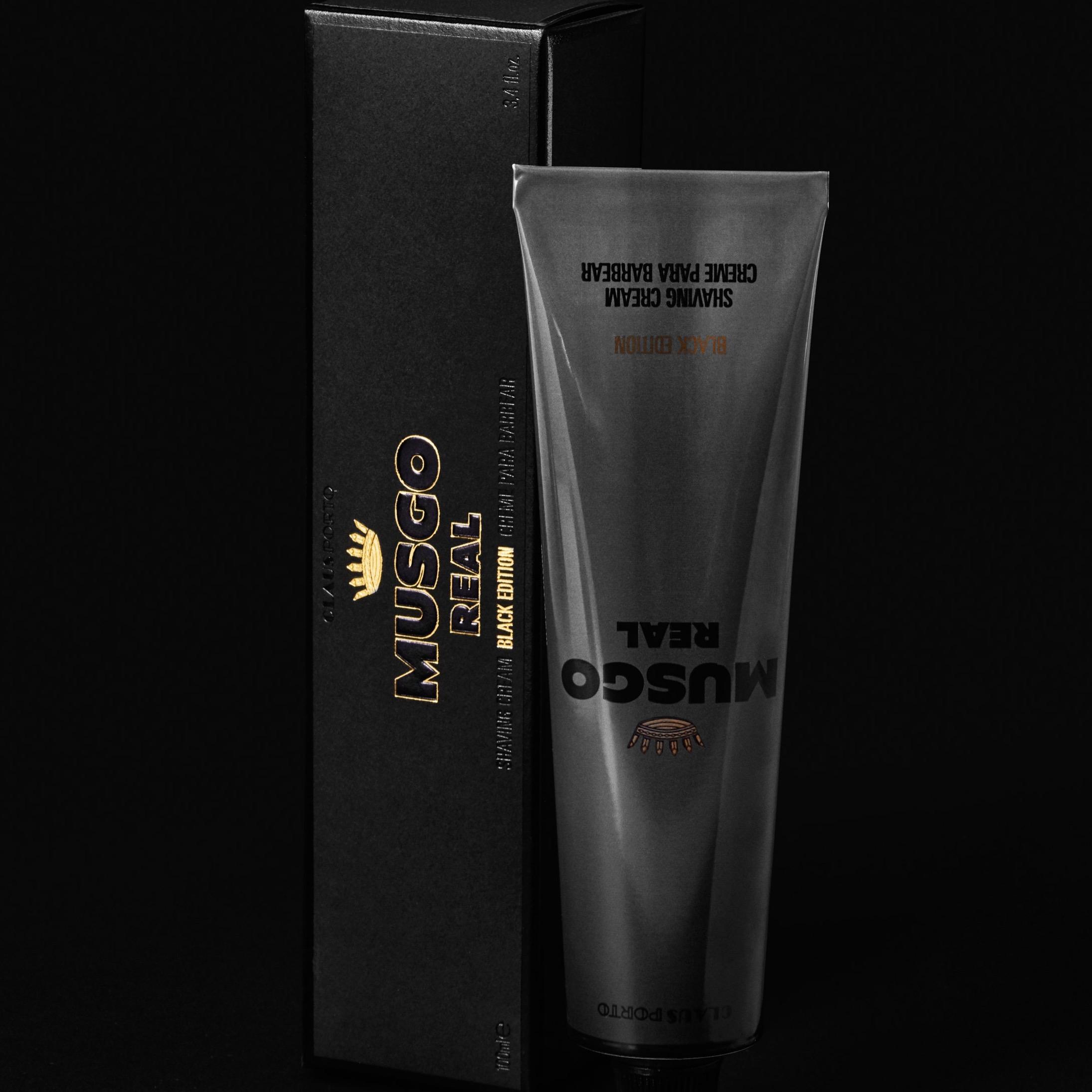 Scheercrème tube Black Edition