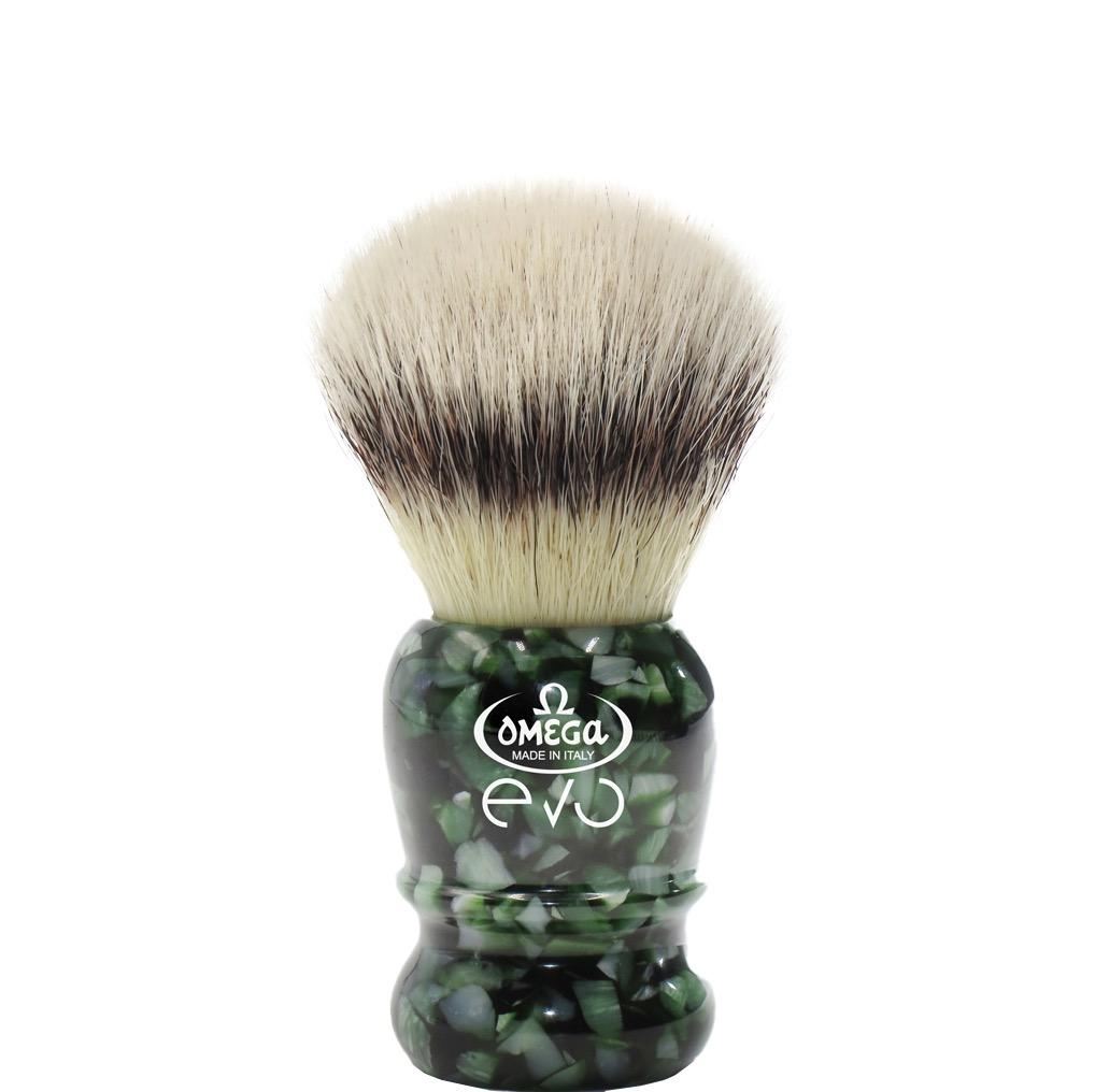Scheerkwast EVO Silvertip fibre - Special veteran