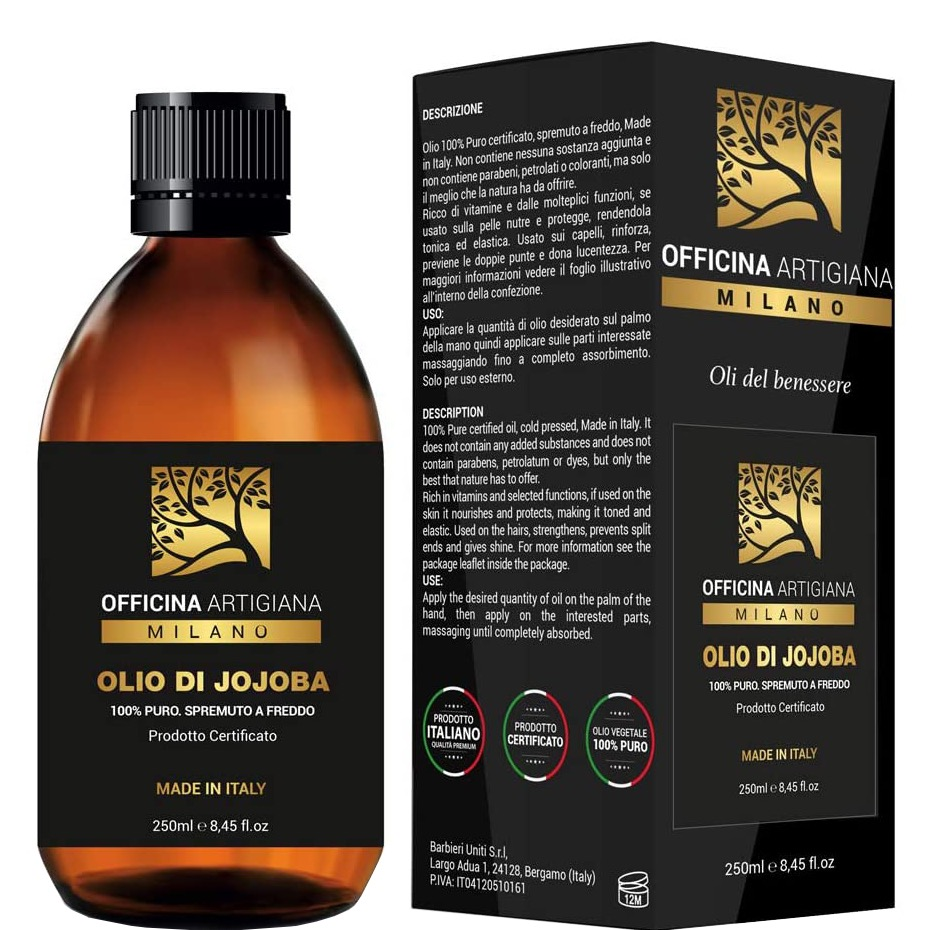100% Pure Certified Jojoba Oil