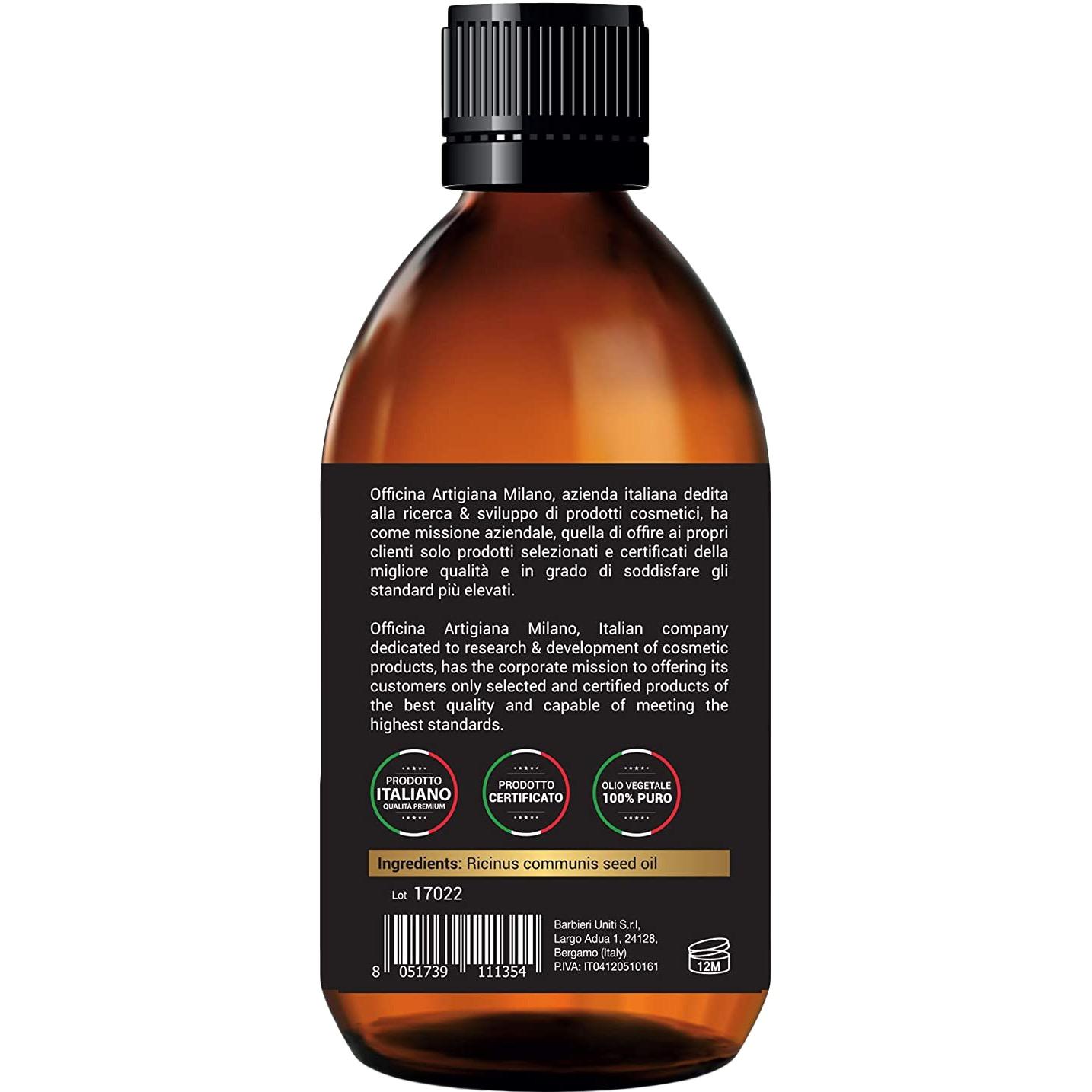 100% Pure Certified Castor Oil