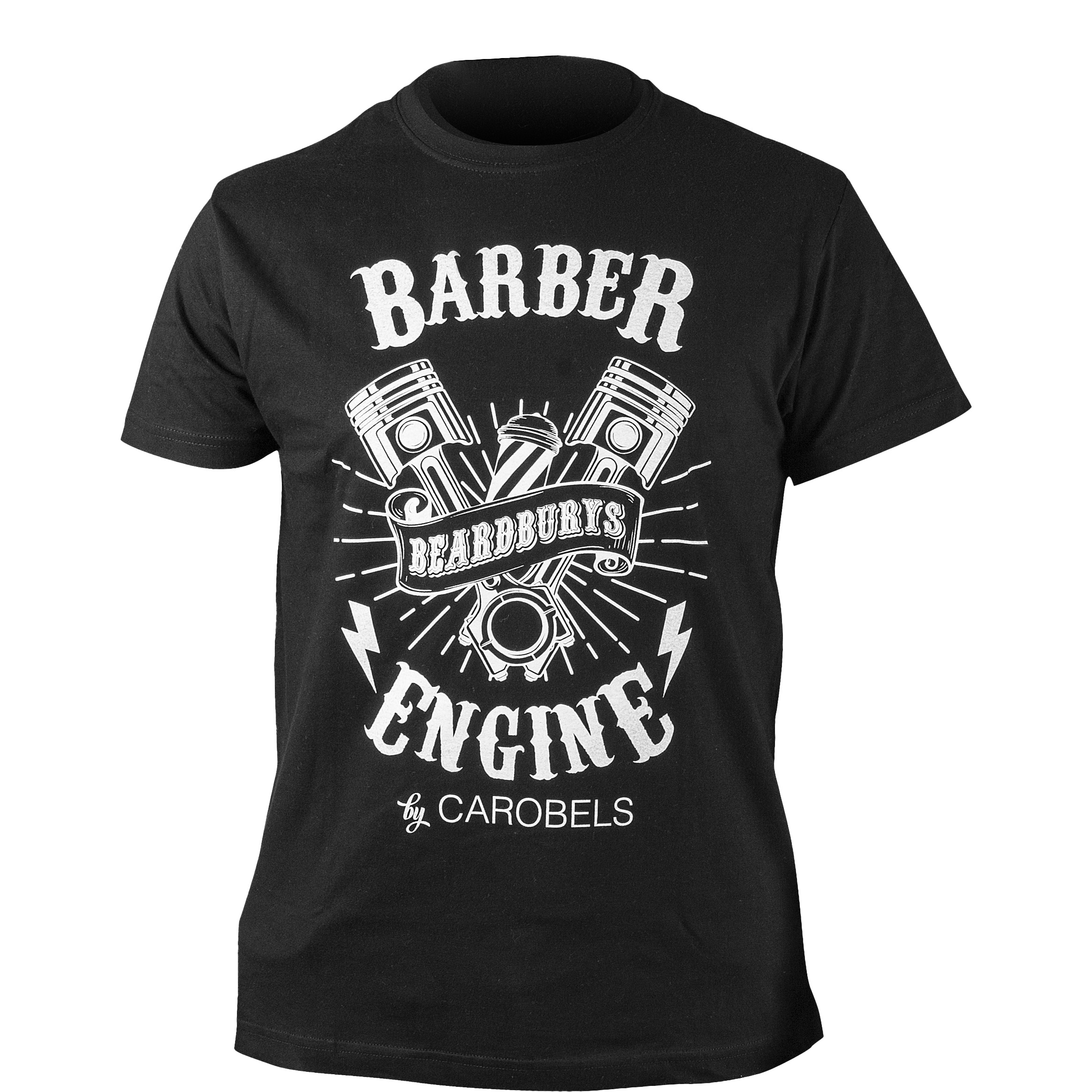 Barber Engine T-shirt maat L
