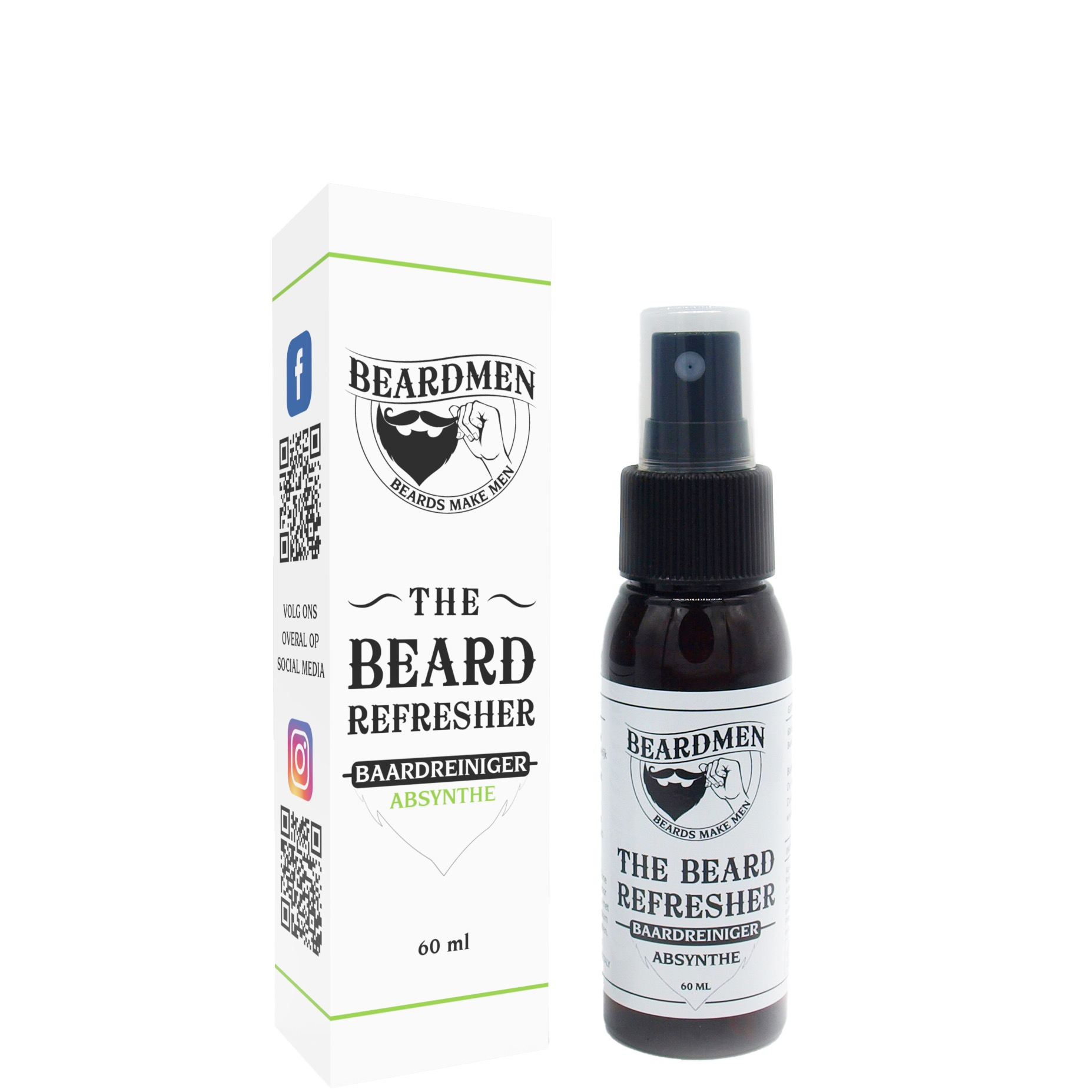 Beardmen Baardreiniger Absynthe