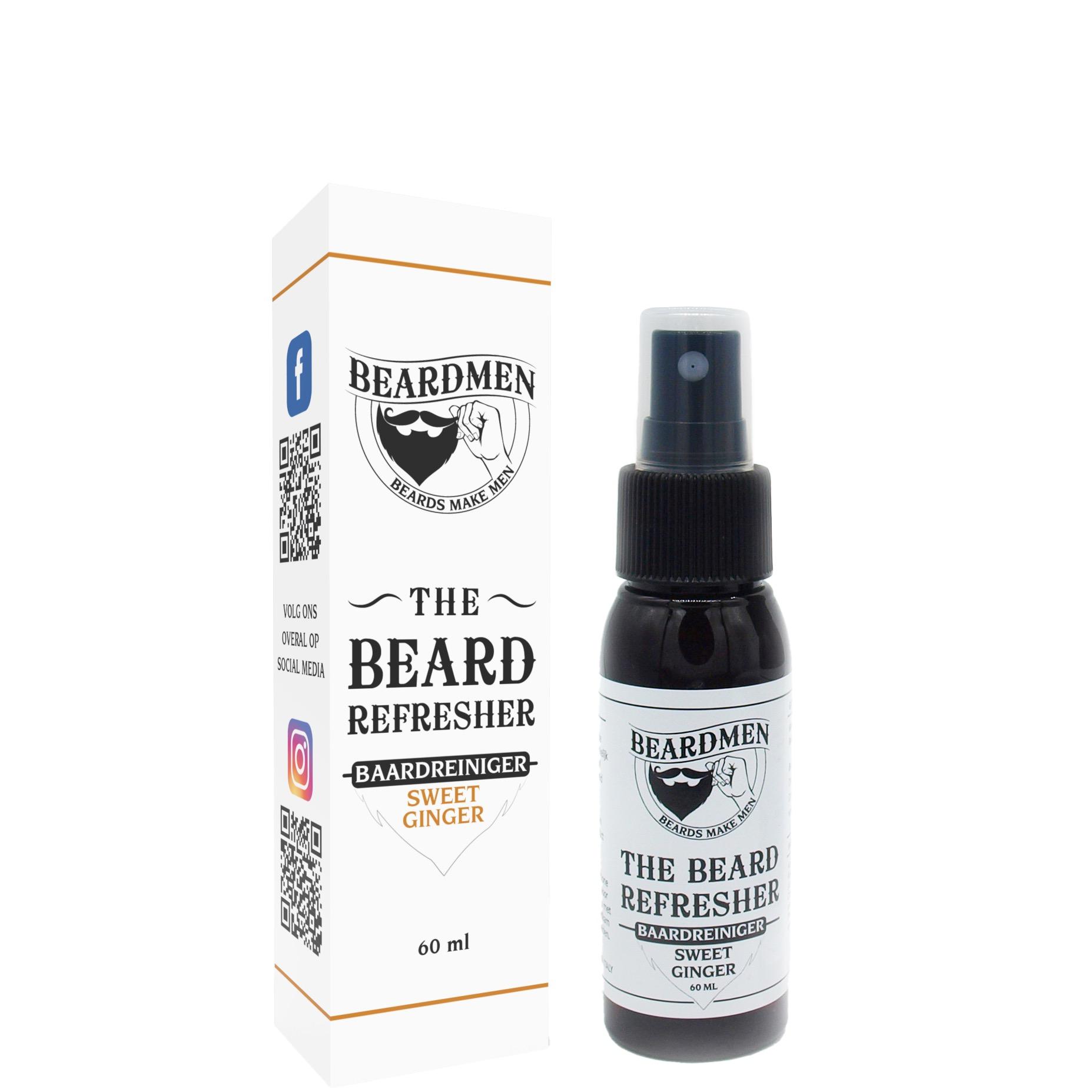 Beardmen Baardreiniger Sweet Ginger