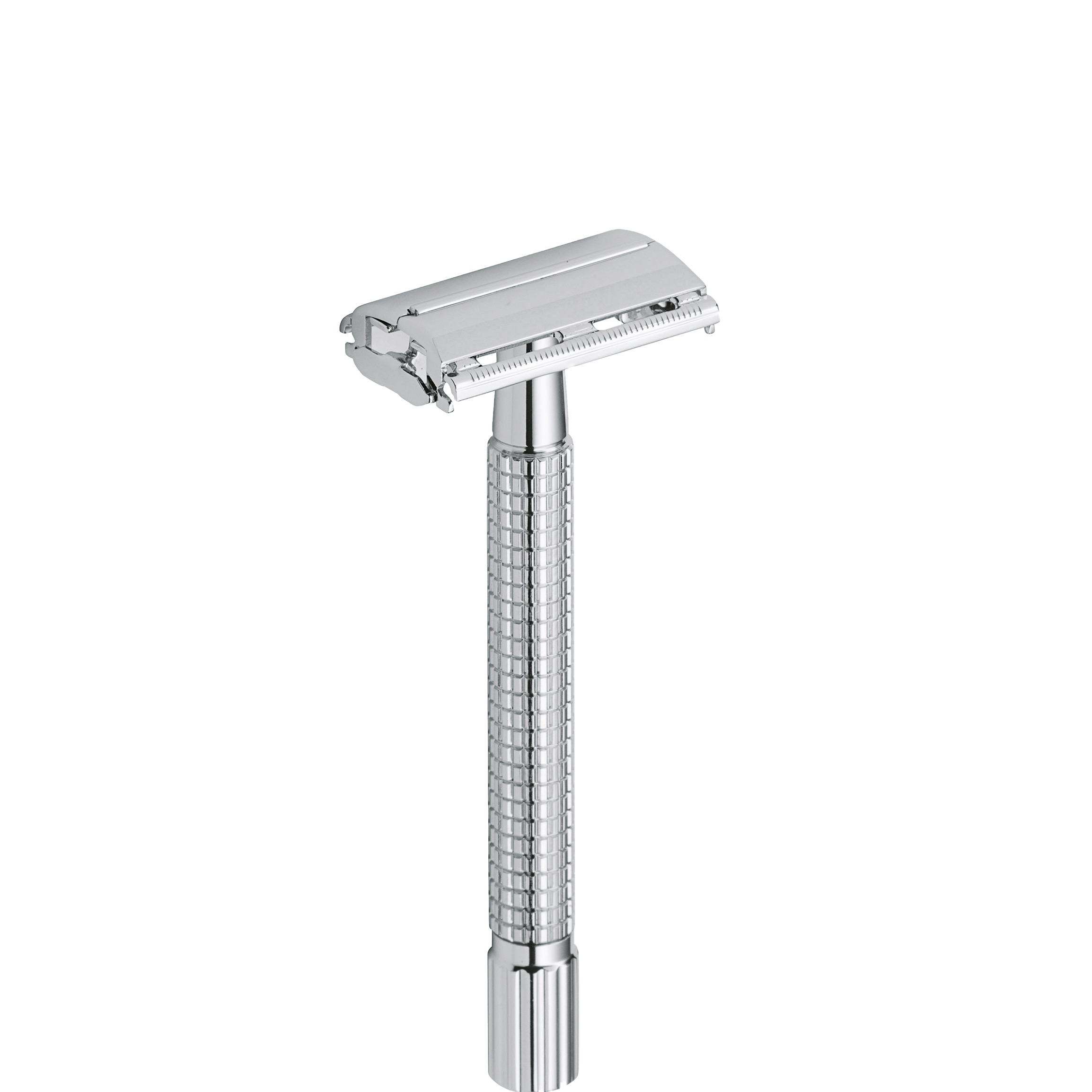 Safety Razor Long Butterfly - chroom