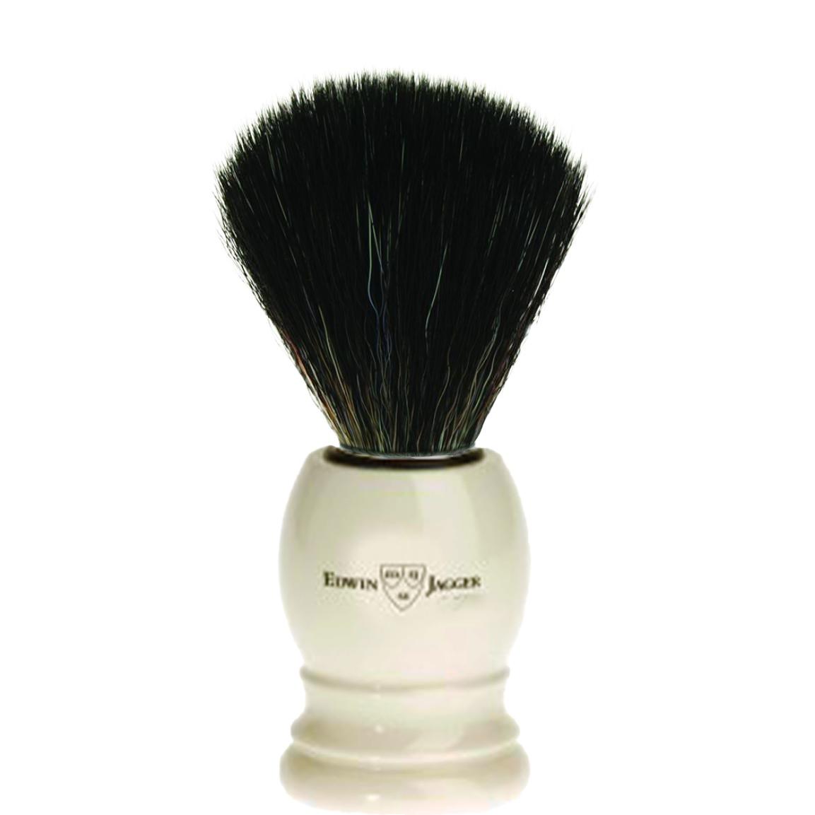 Scheerkwast Basic - Black Fibre - ivoor