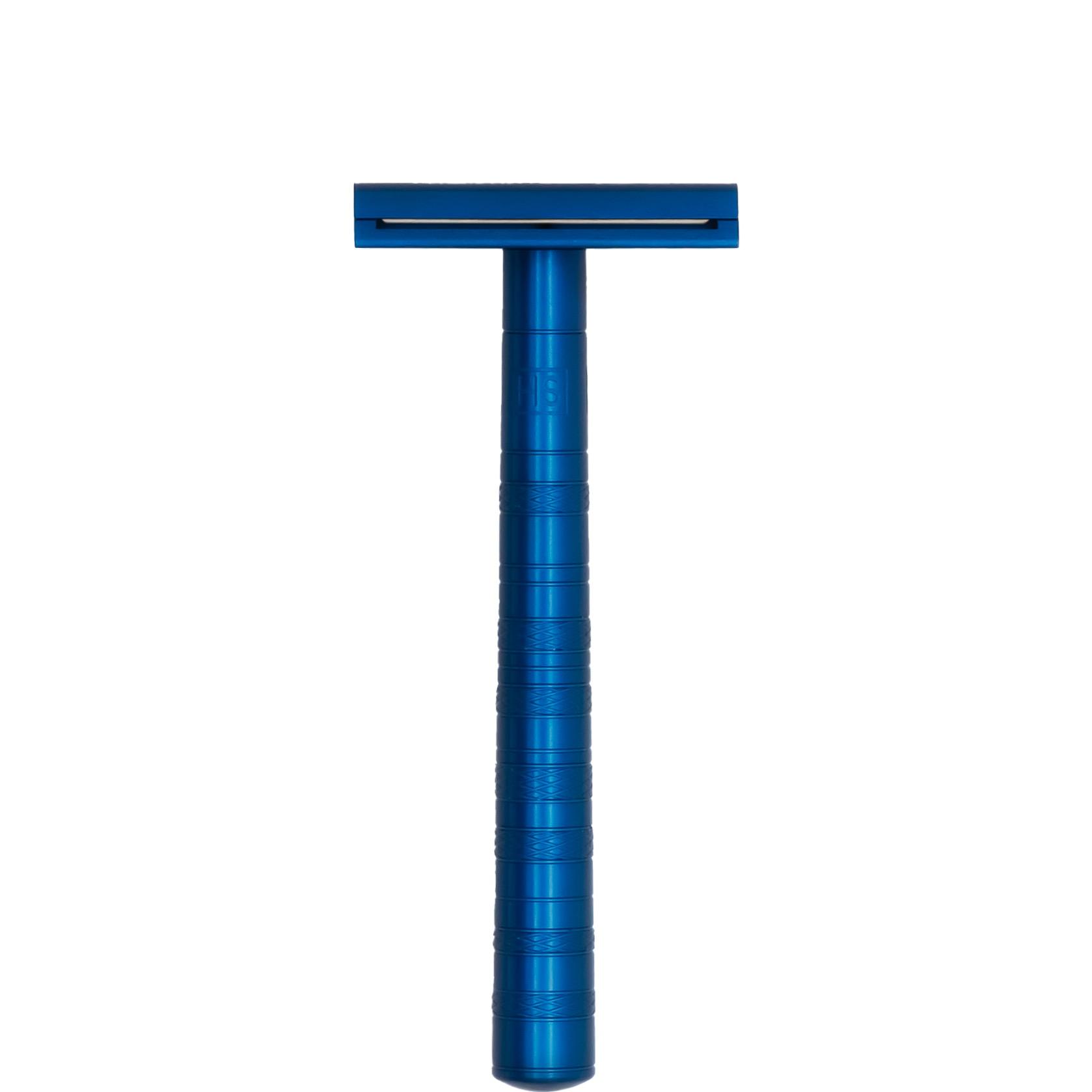 Safety Razor AL13 - Mild - Steel Blue