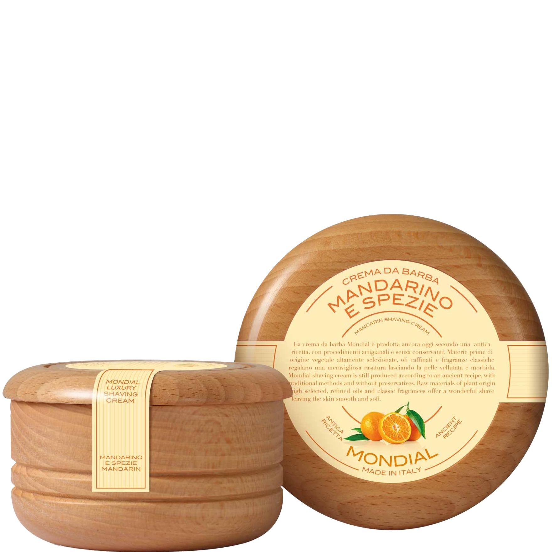 Scheerzeep Traditional Wooden Bowl Mandarino/ Spezie