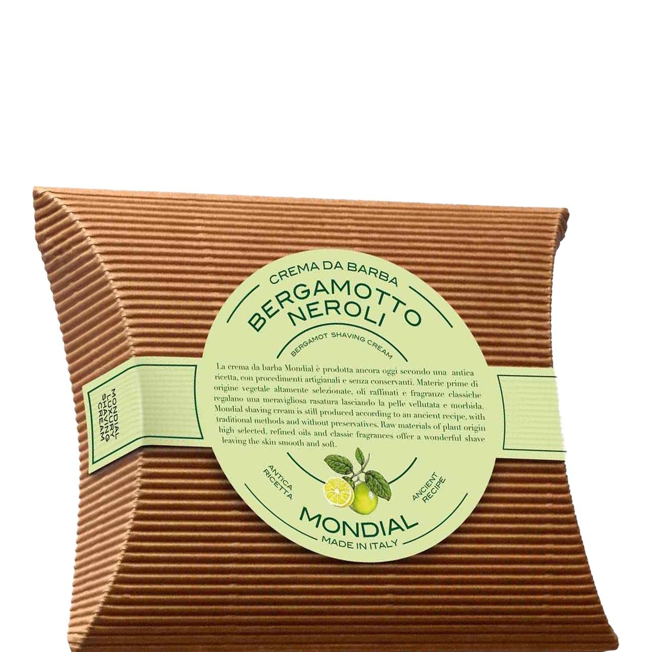 Scheerzeep Traditional Navulling Bergamotto