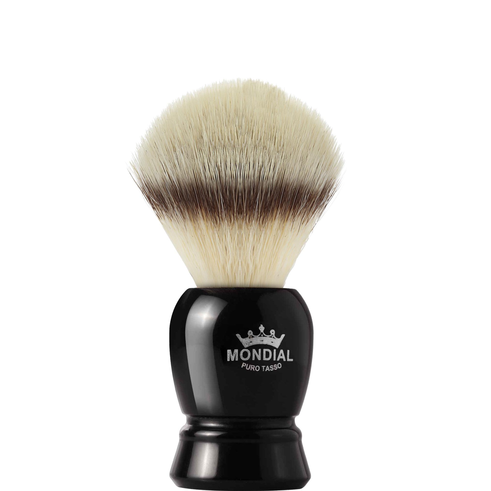 Scheerkwast Regent Silvertip fibre - zwart