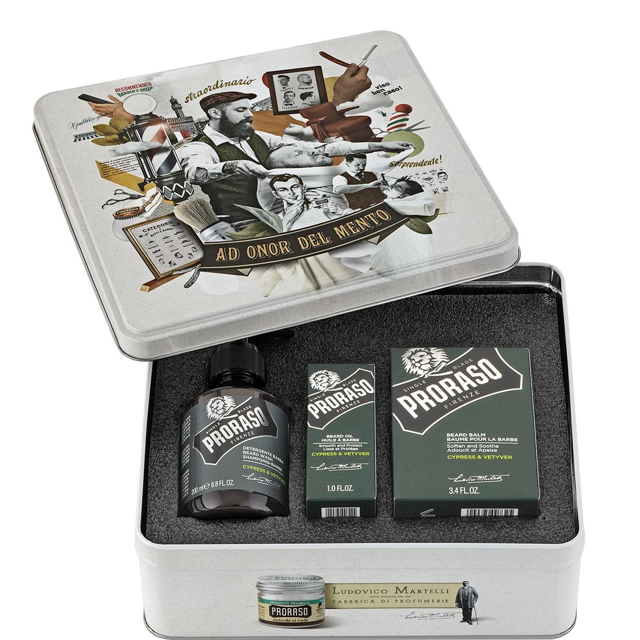 Cadeauset Baardverzorging Cypress & Vetiver
