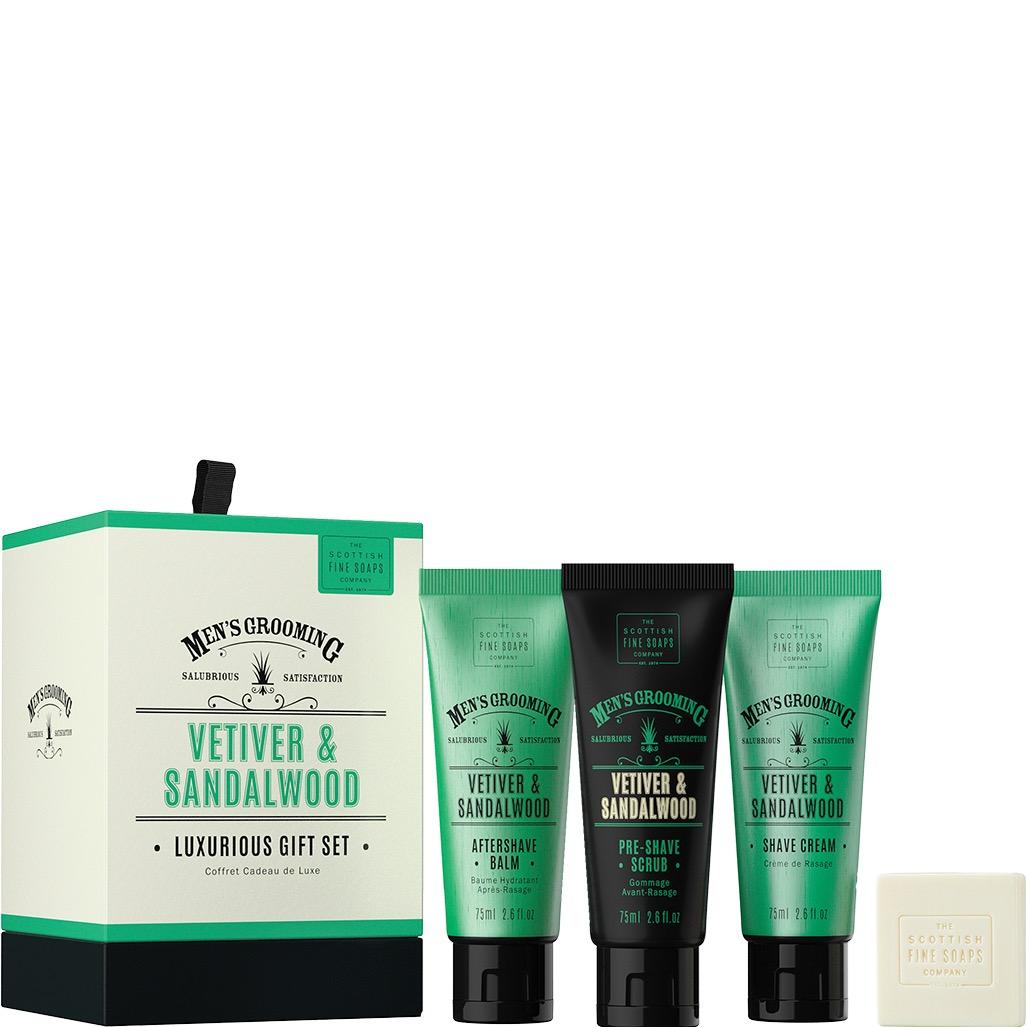 Luxurius Gift Set Vetiver & Sandalwood