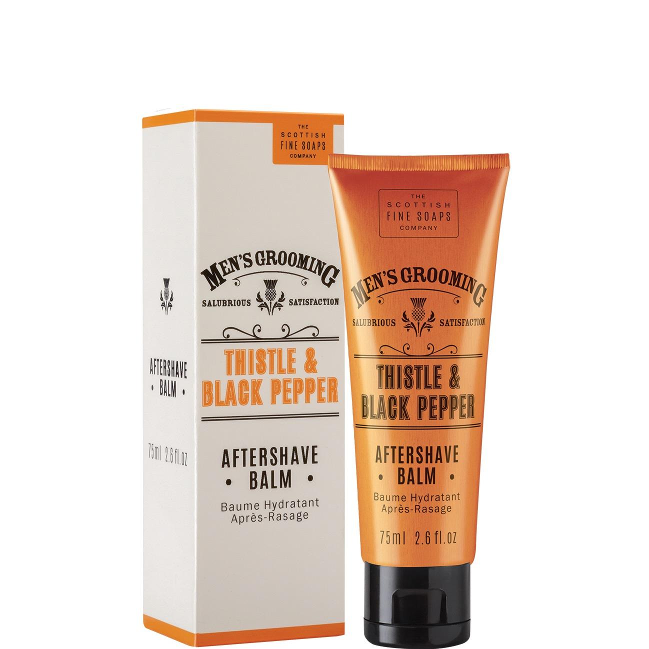 Aftershave Balsem Thistle & Black Pepper