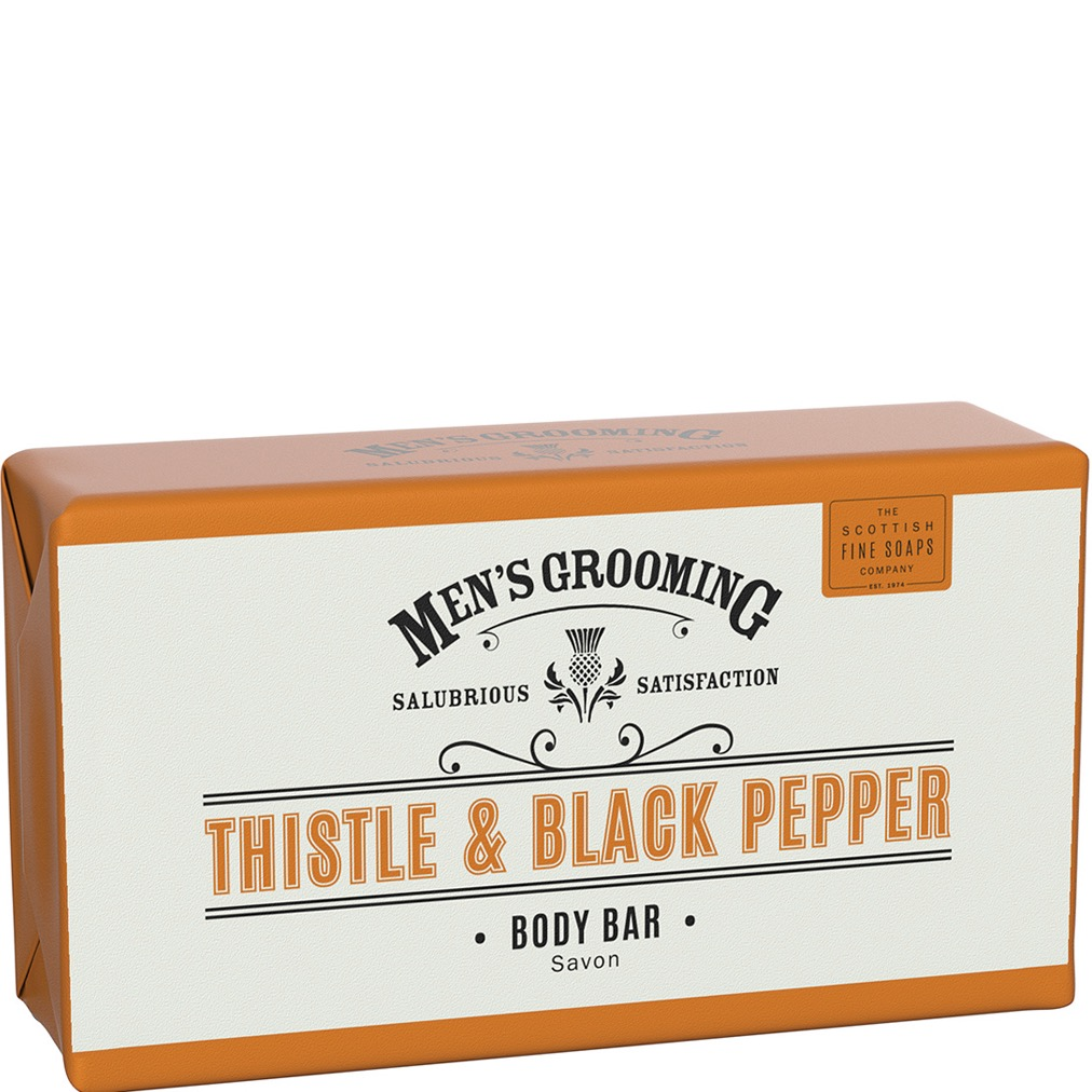 Hand- & Body Soap Bar Thistle & Black Pepper