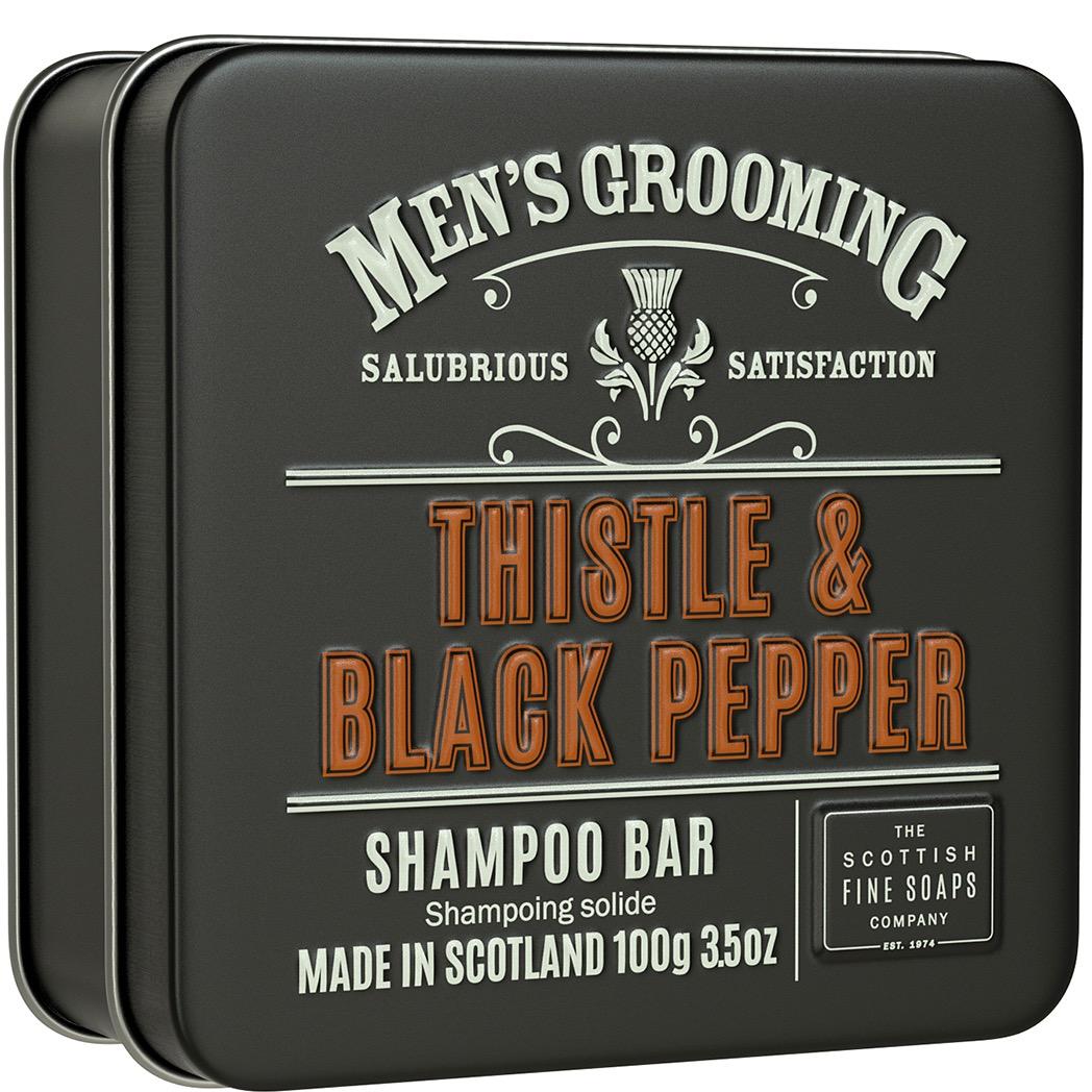 Shampoo Bar Thistle & Black Pepper