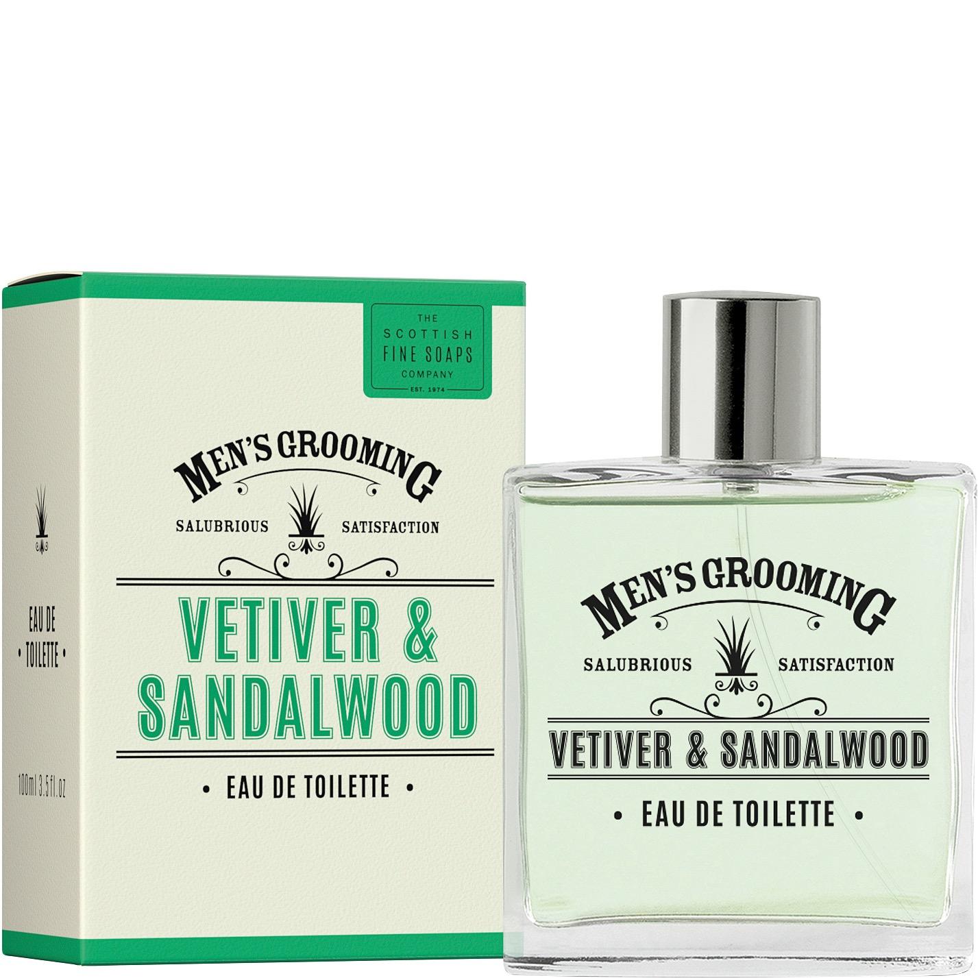 Eau de Toilette Vetiver & Sandalwood