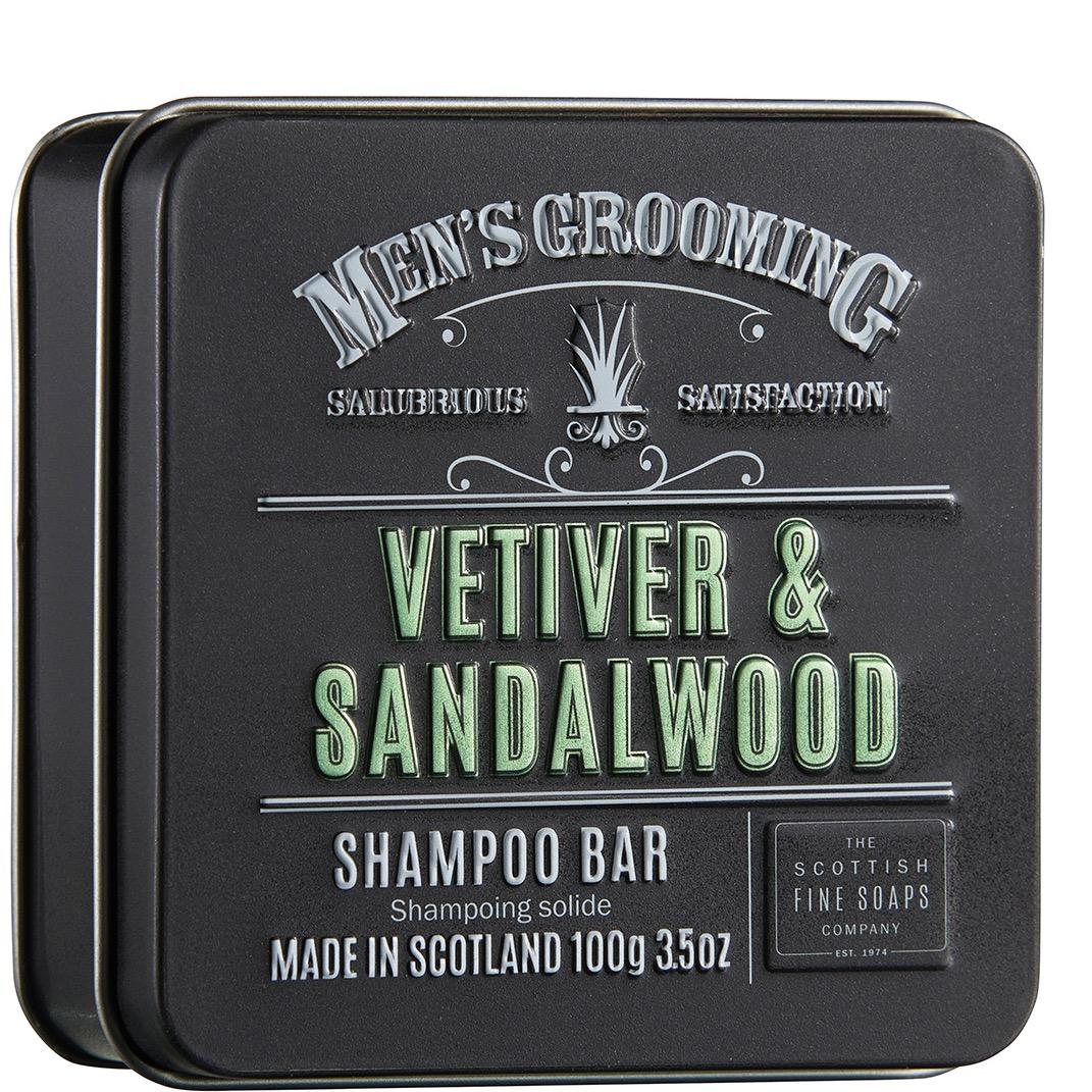 Shampoo Bar Vetiver & Sandalwood