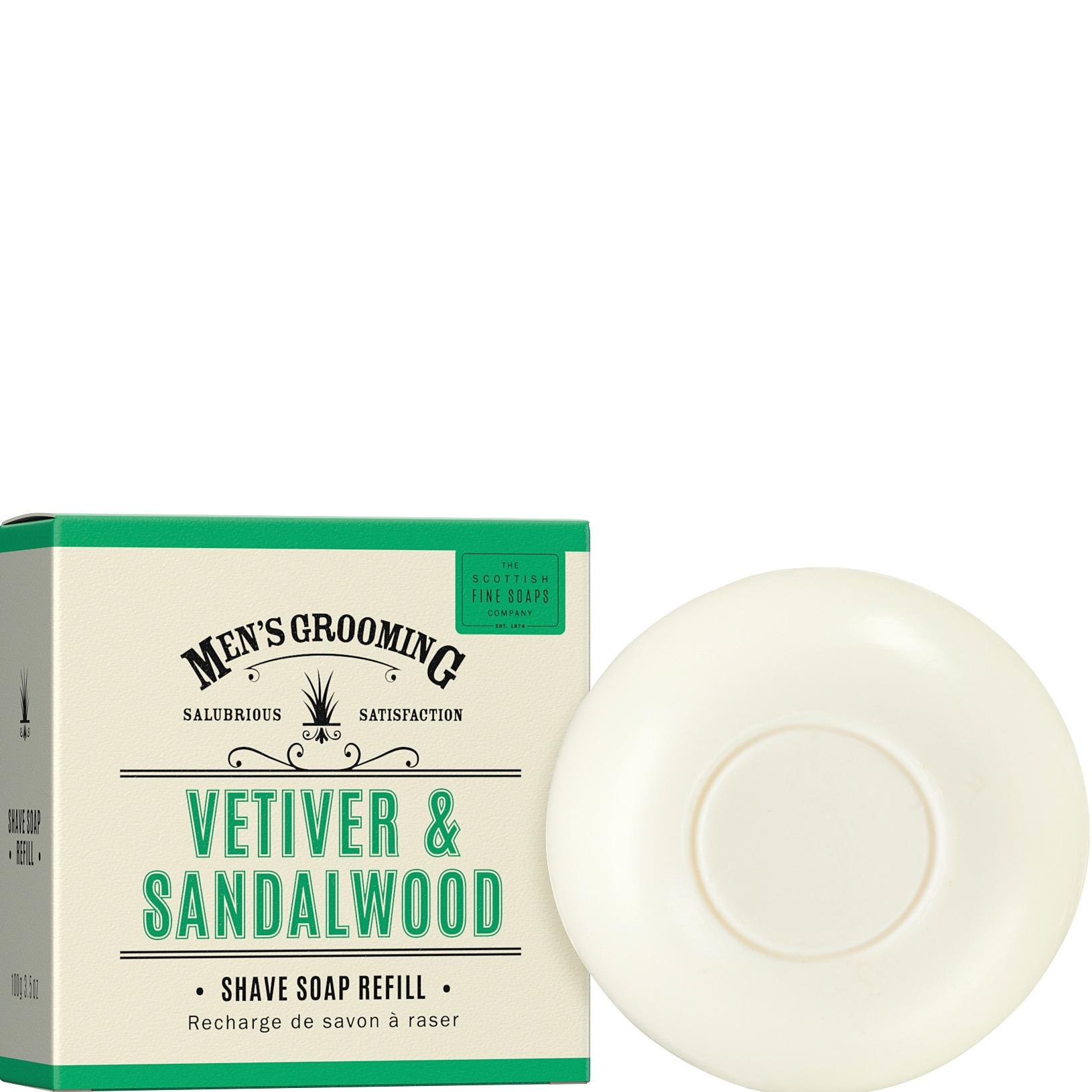 Scheerzeep navulling Vetiver &Sandalwood
