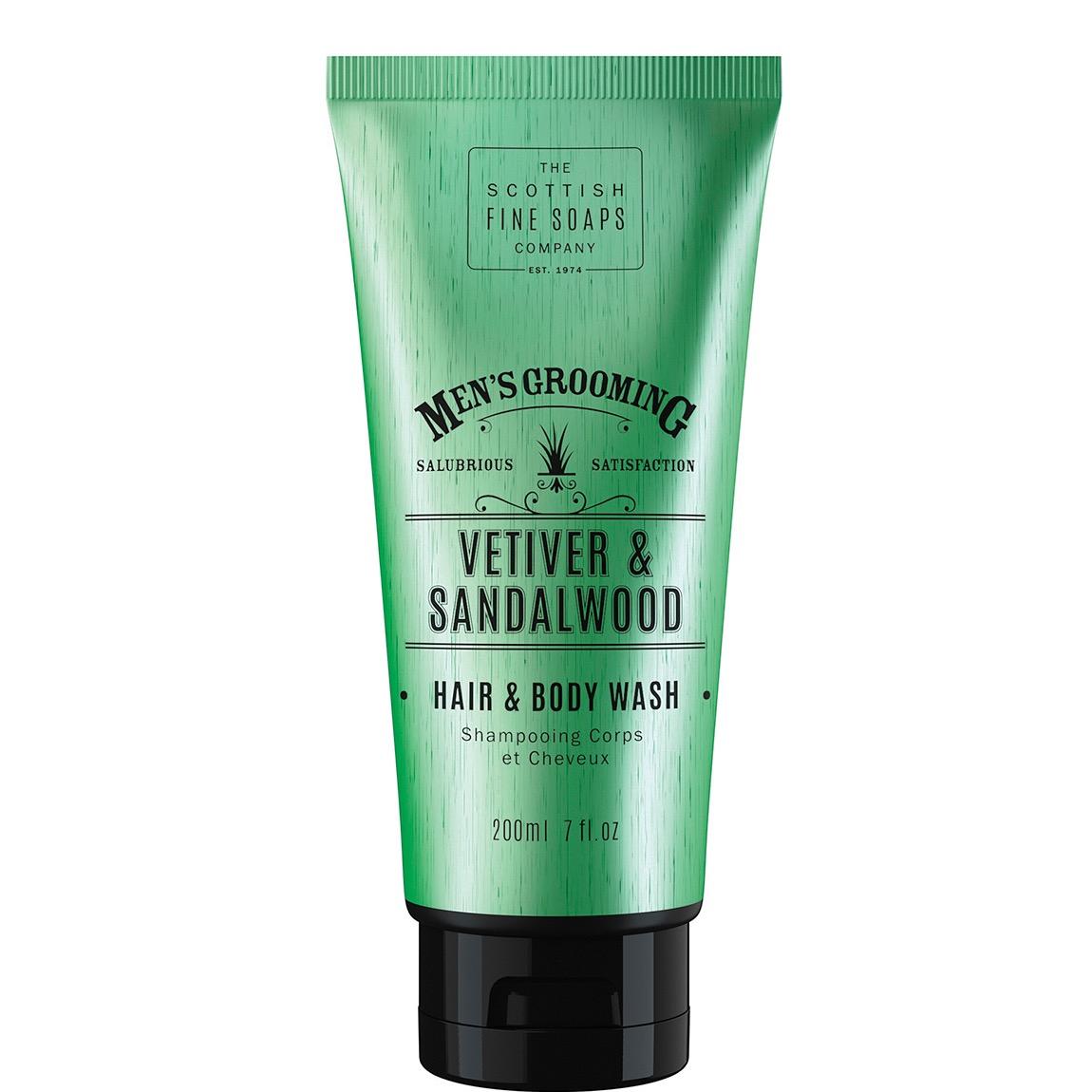 Hair & Body Wash Vetiver & Sandalwood