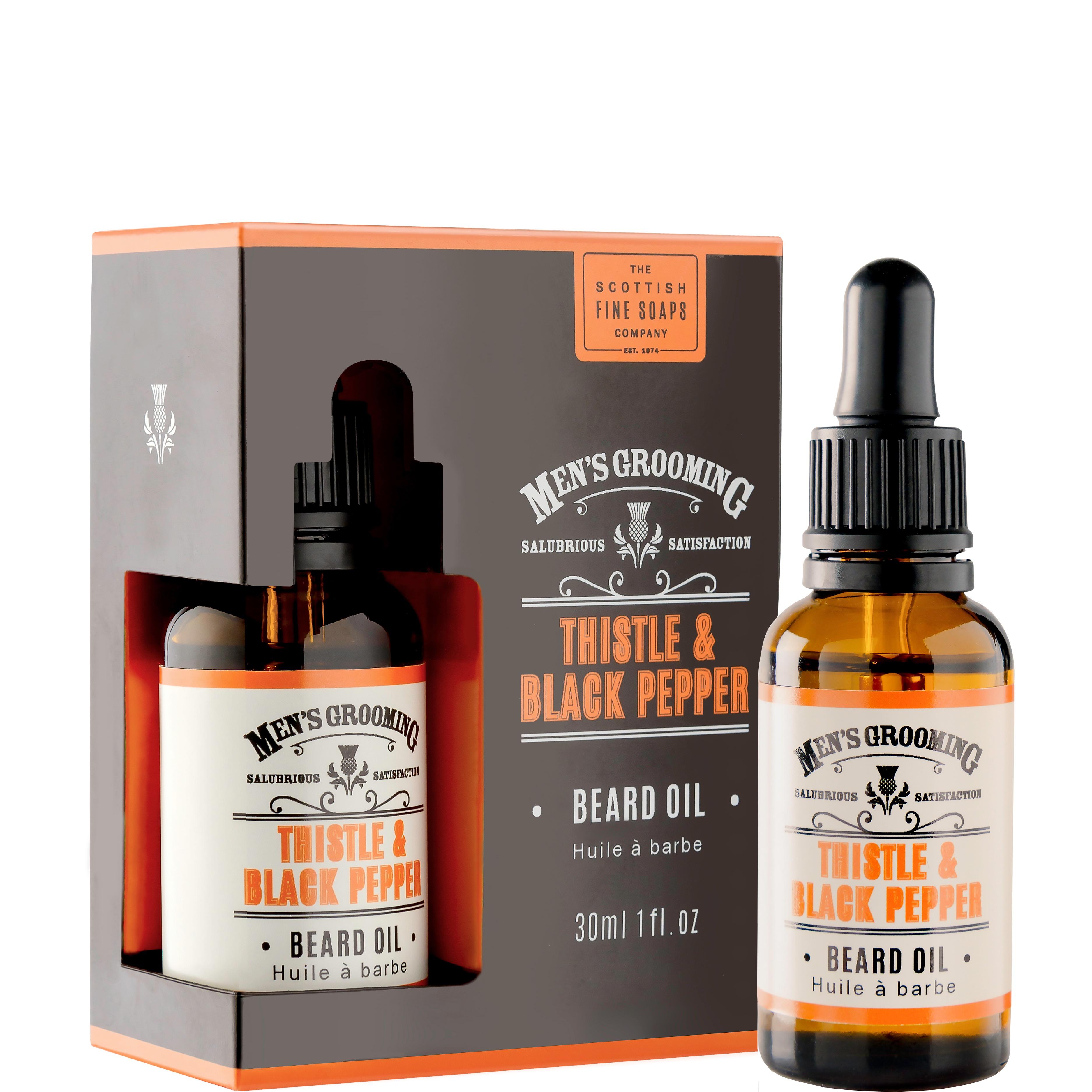 Baardolie Thistle & Black Pepper