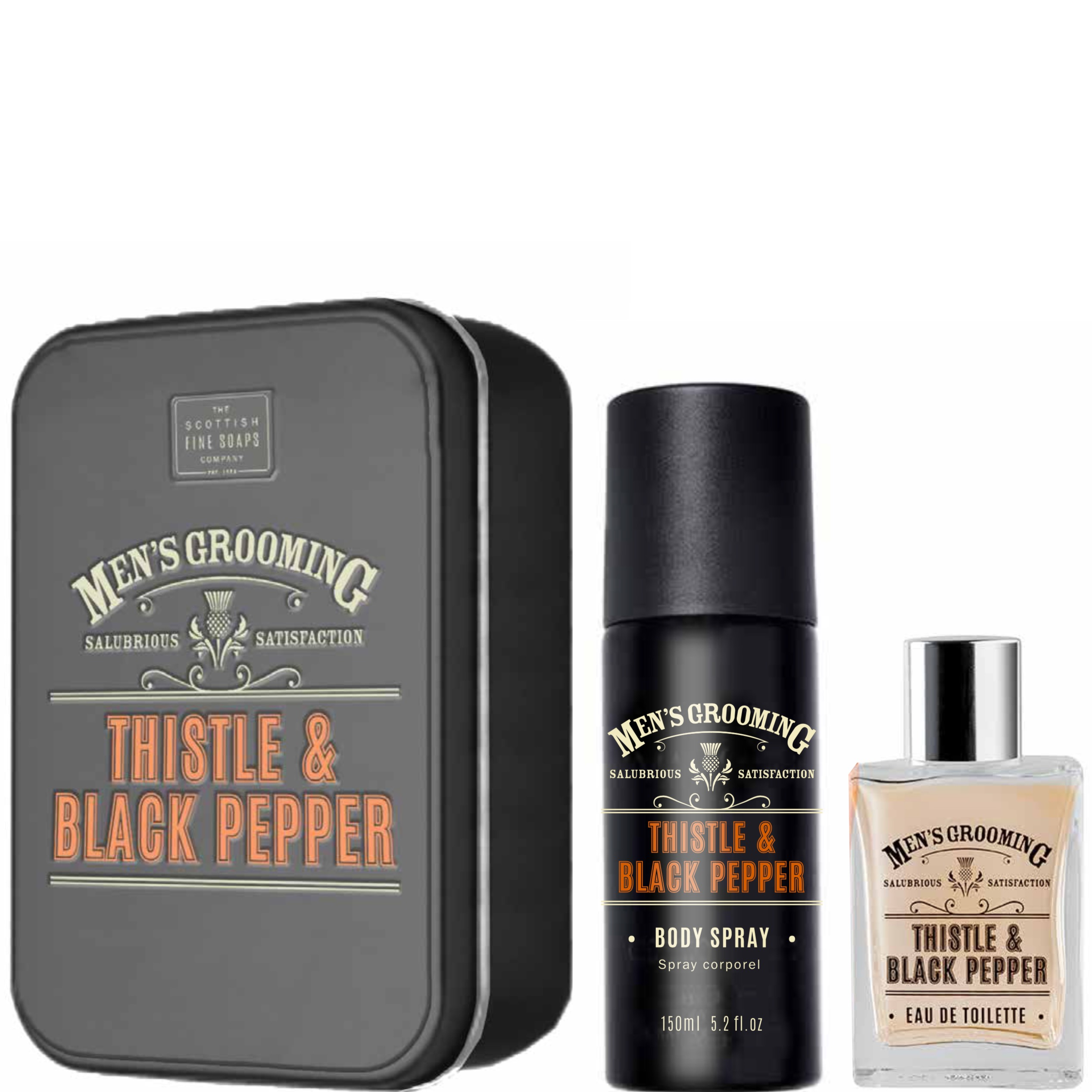 Duo Gift Set Thistle & Black Pepper