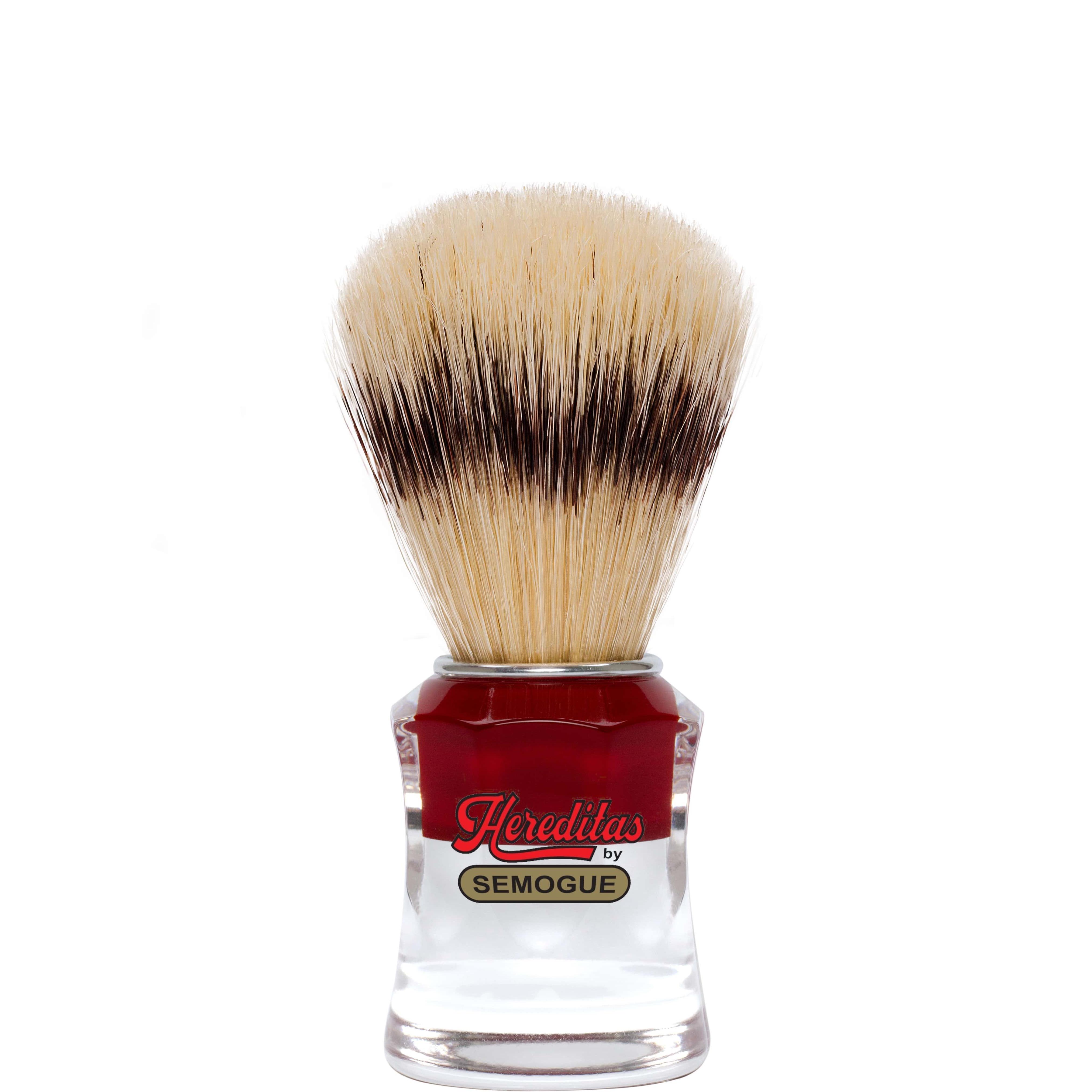 Scheerkwast Hereditas Varkenshaar - acrylic red