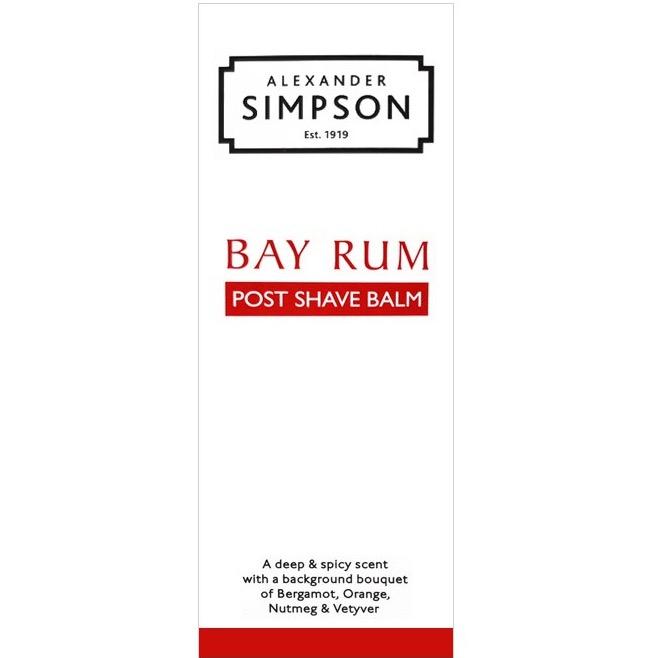 Aftershave Balsem Bay Rum