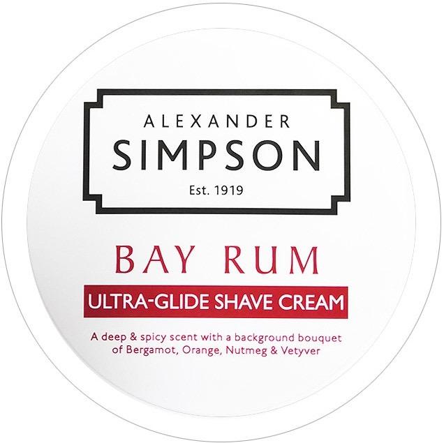 Scheercrème Ultra-Glide Bay Rum