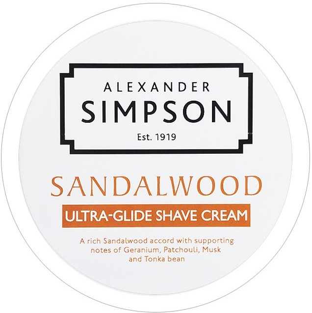 Scheercrème Ultra-Glide Sandalwood