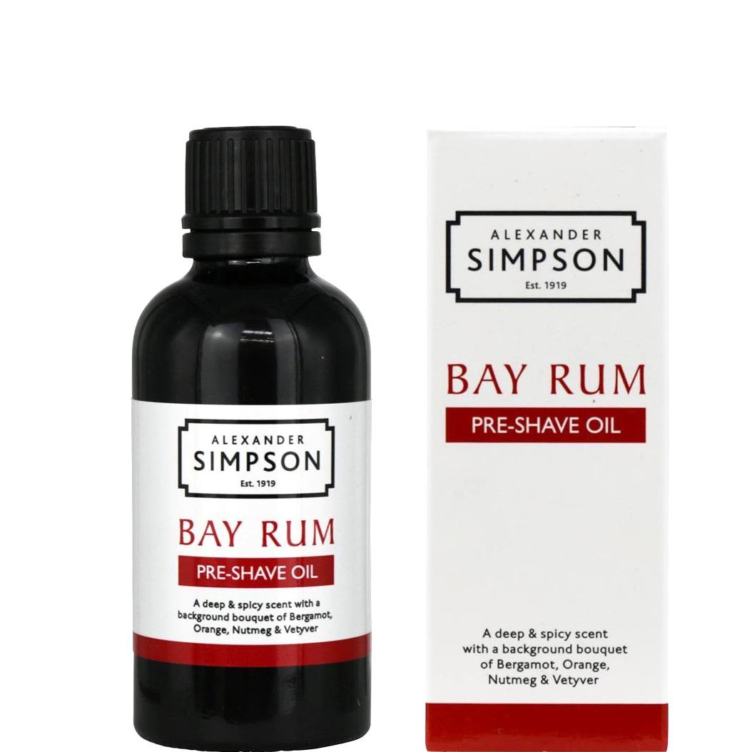 Pre-shave olie Bay Rum
