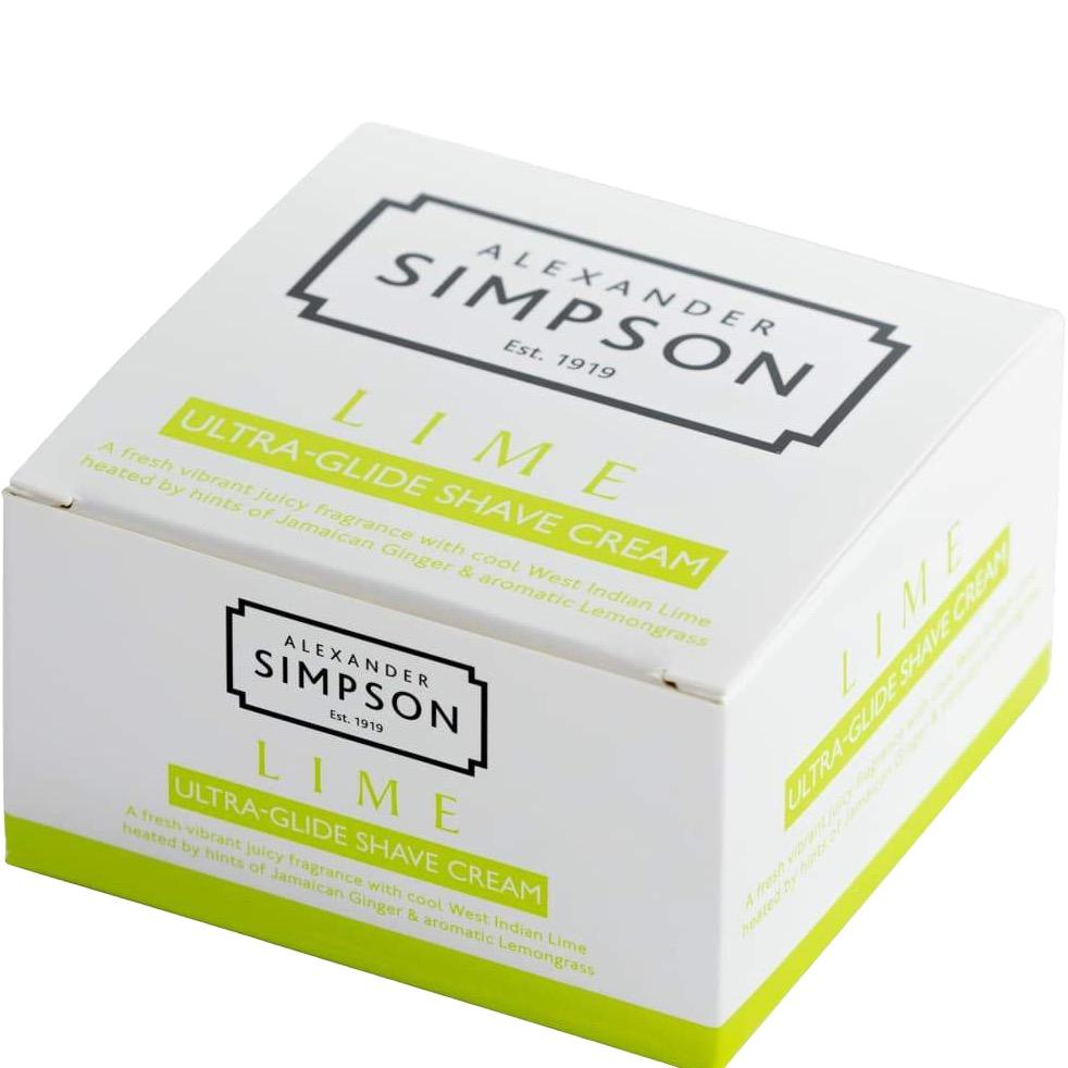 Scheercrème Ultra-Glide Lime