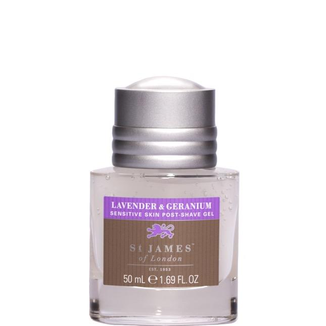 Aftershave Gel Lavender & Geranium
