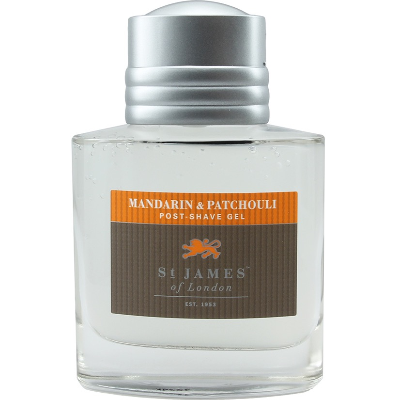 Aftershave Gel Mandarin & Patchouli
