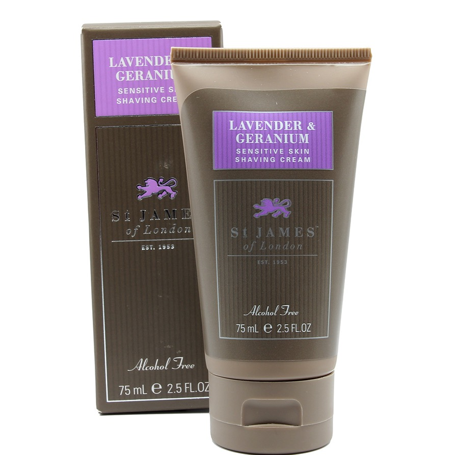Scheercrème tube Lavender & Geranium