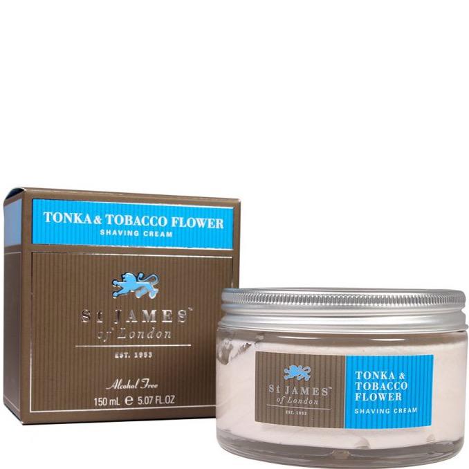 Scheercrème Tonka & Tobacco Flower