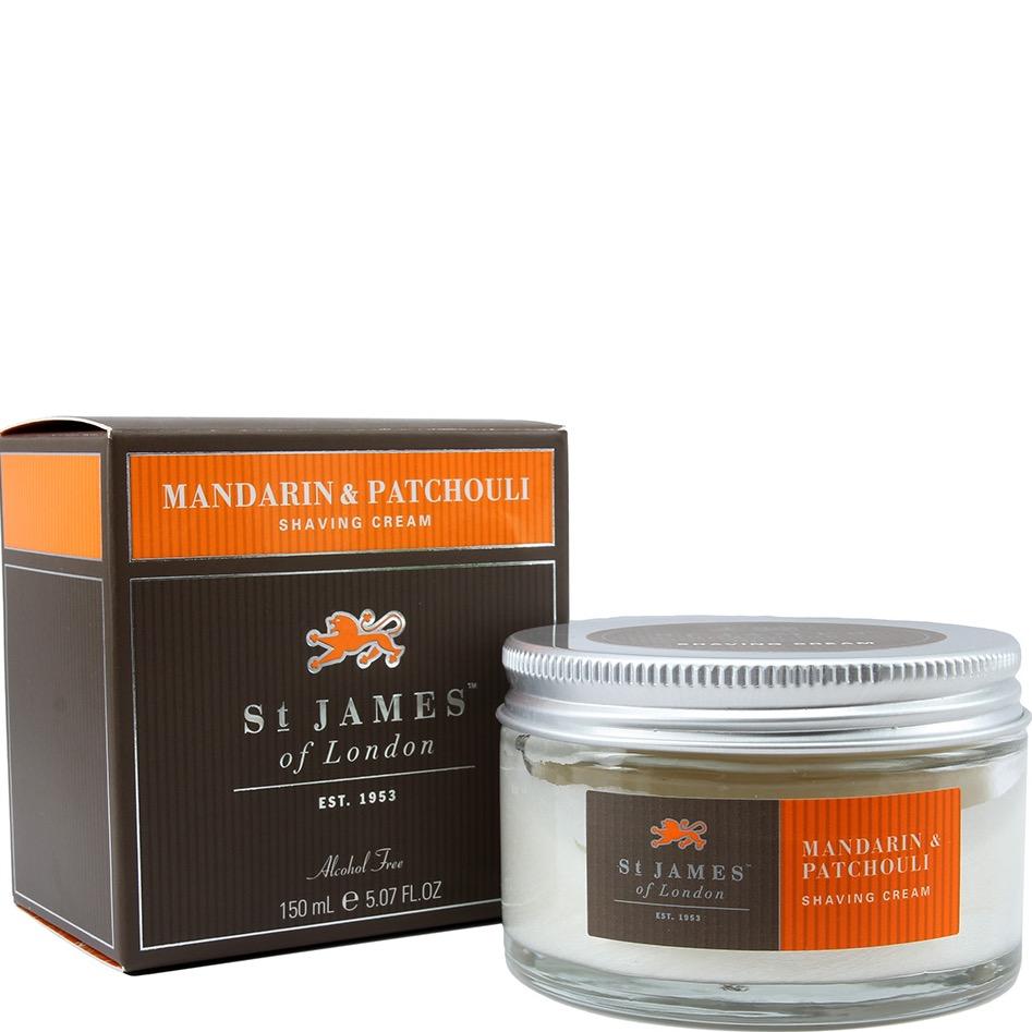 Scheercrème Mandarin & Patchouli