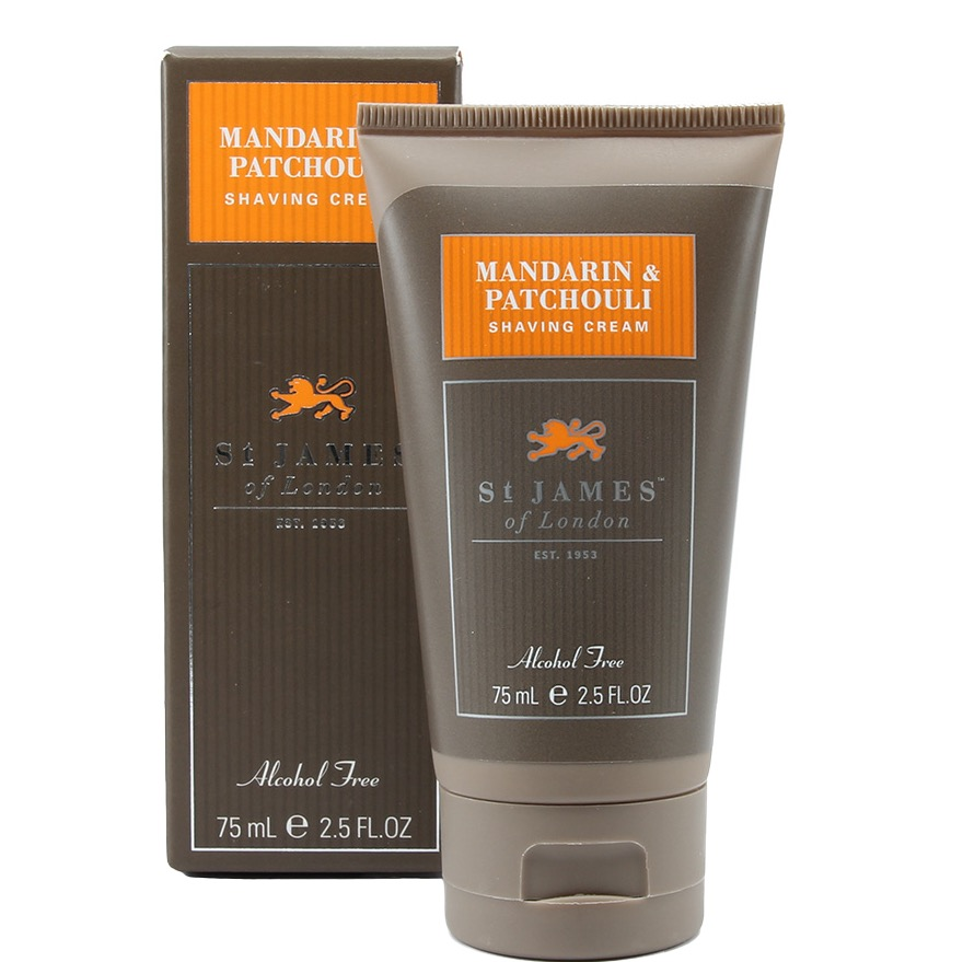 Scheercrème tube Mandarin & Patchouli