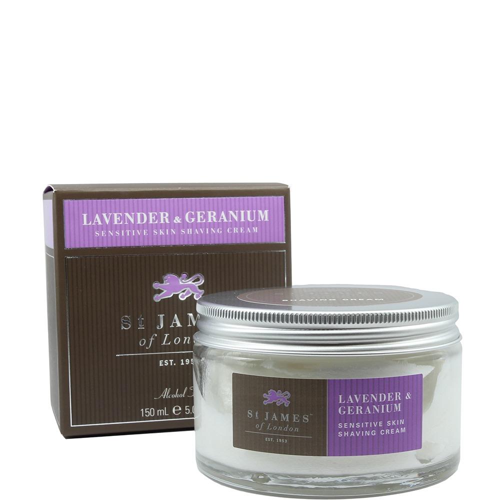 Scheercrème Lavender & Geranium