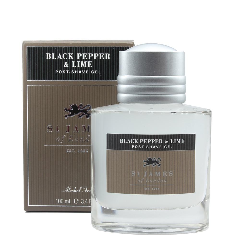 Aftershave Gel Black Pepper & Lime