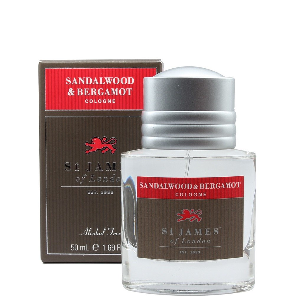 Cologne Sandalwood & Bergamot