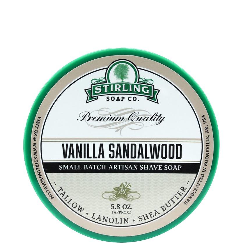 Scheerzeep Vanilla Sandalwood