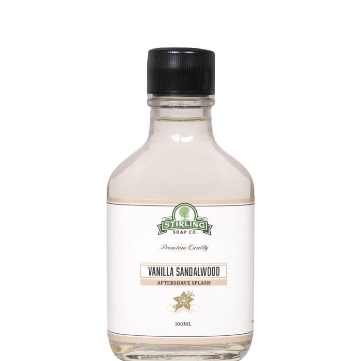 Aftershave Splash Vanilla Sandalwood
