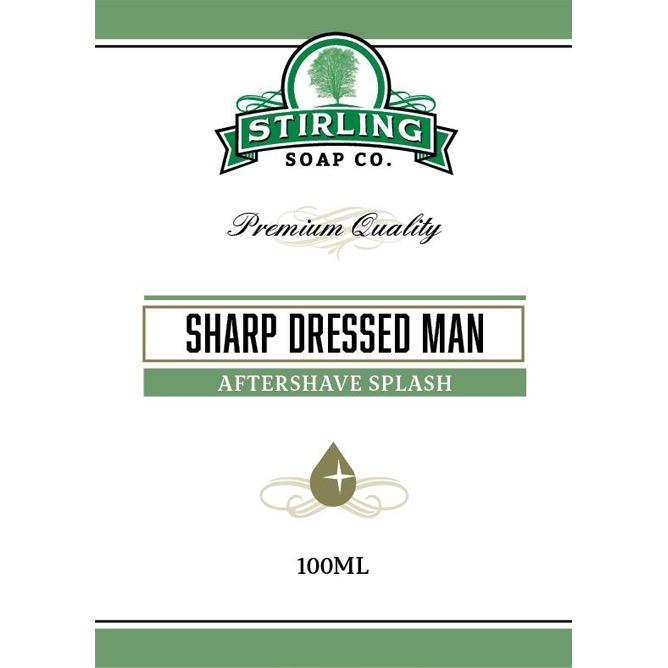 Aftershave Splash Sharp Dressed Man