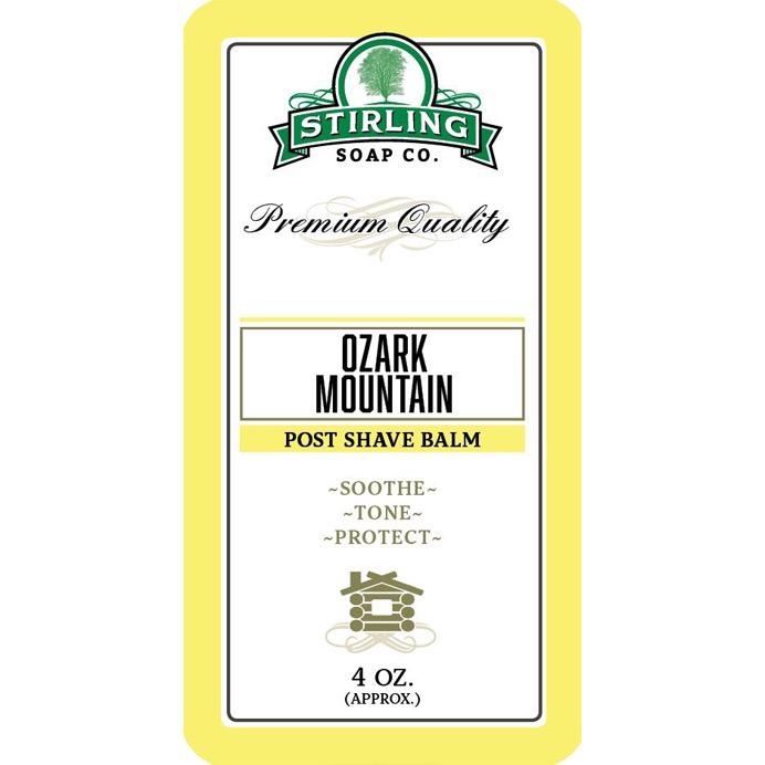 Aftershave Balsem Ozark Mountain
