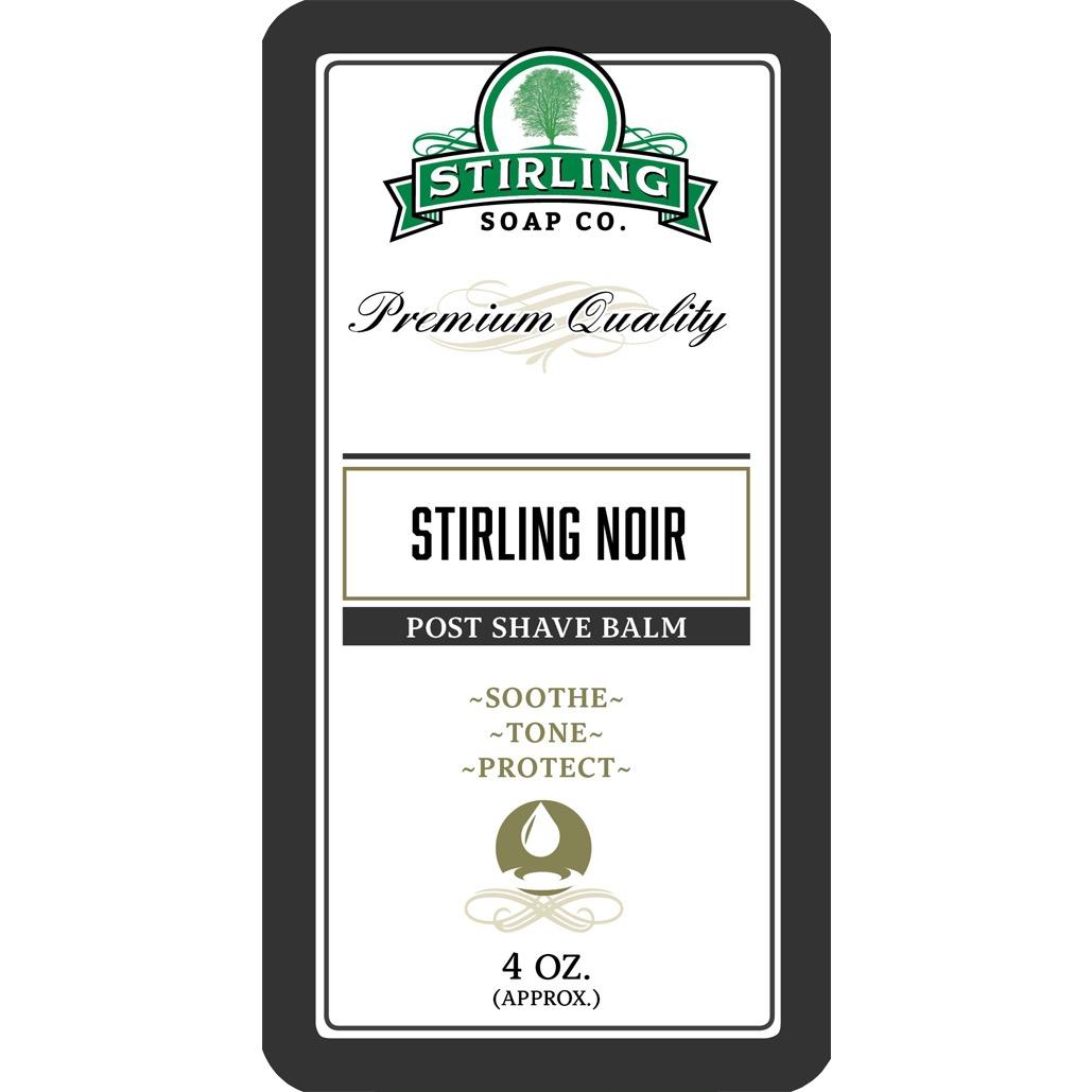 Aftershave Balsem Stirling Noir
