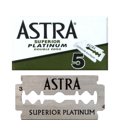 Double Edge Blades Superior Platinum