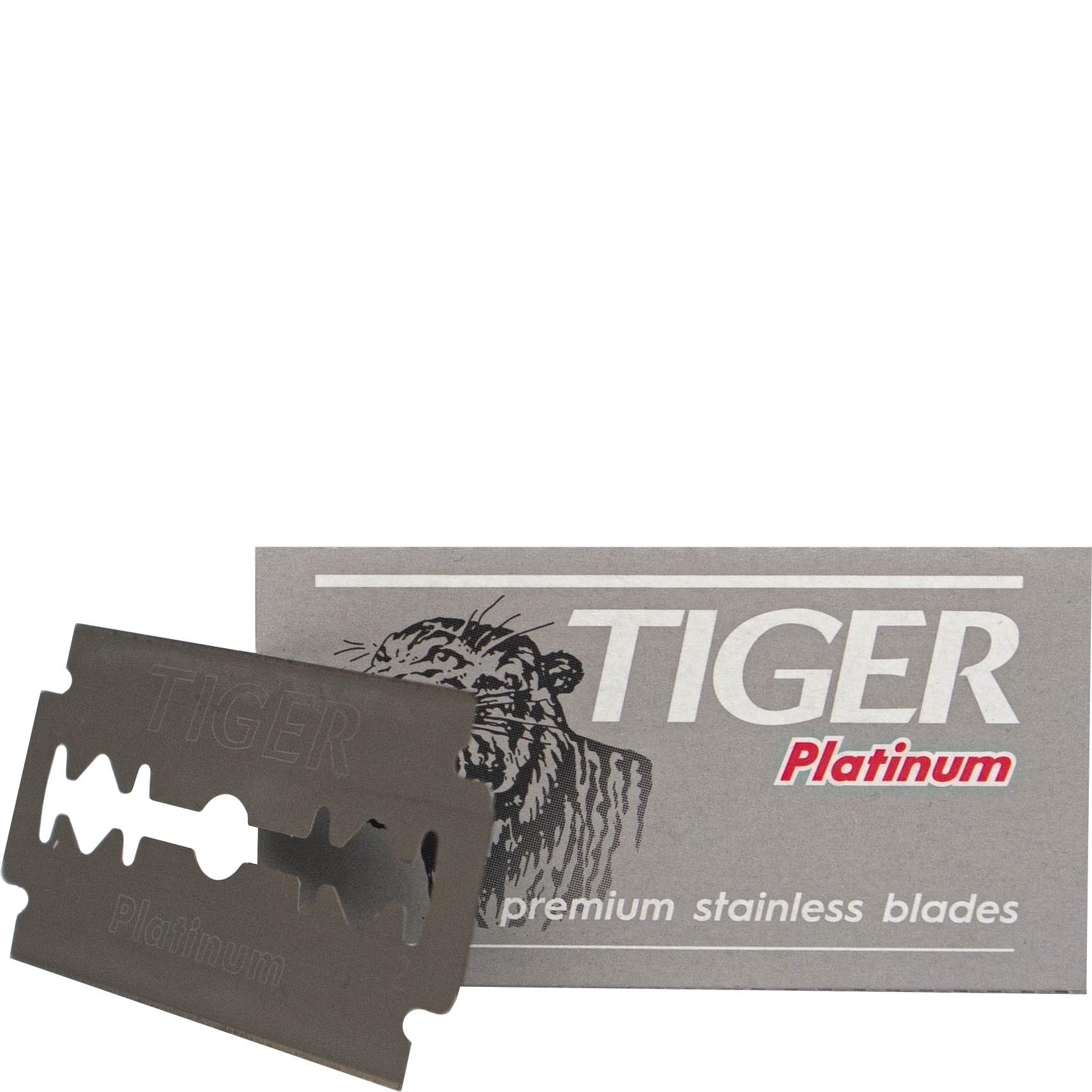 Box - Double Edge Blades Platinum