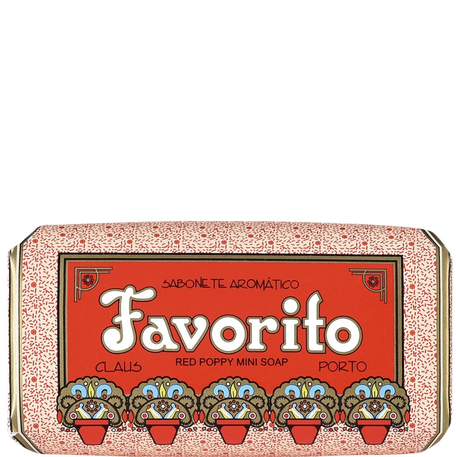 Mini Soap Favorito / Red Poppy