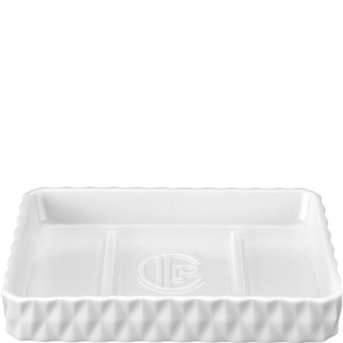 Soap Dish - porselein - wit